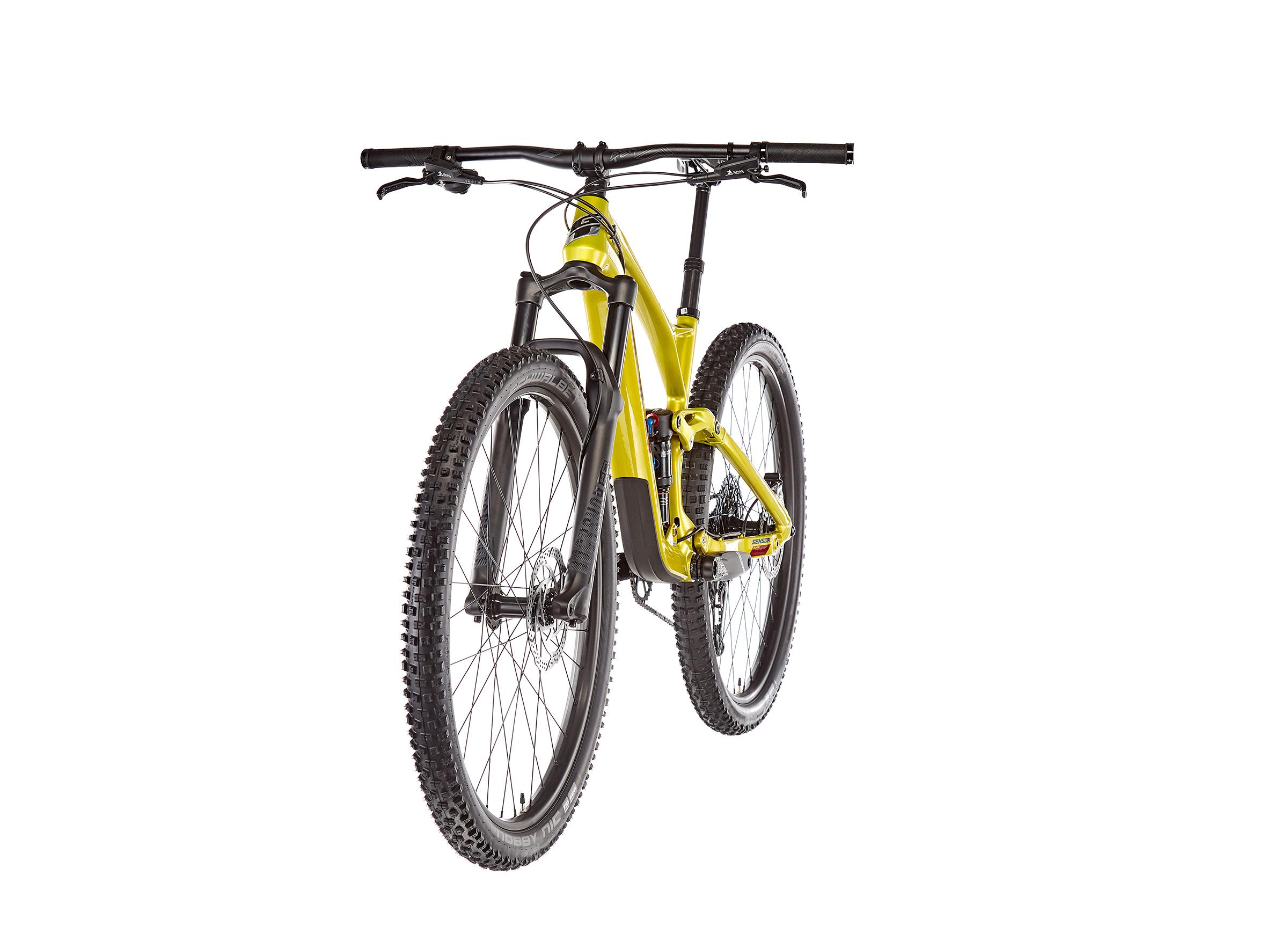 "GT Bicycles Sensor Carbon Elite 29"" gloss limegold"