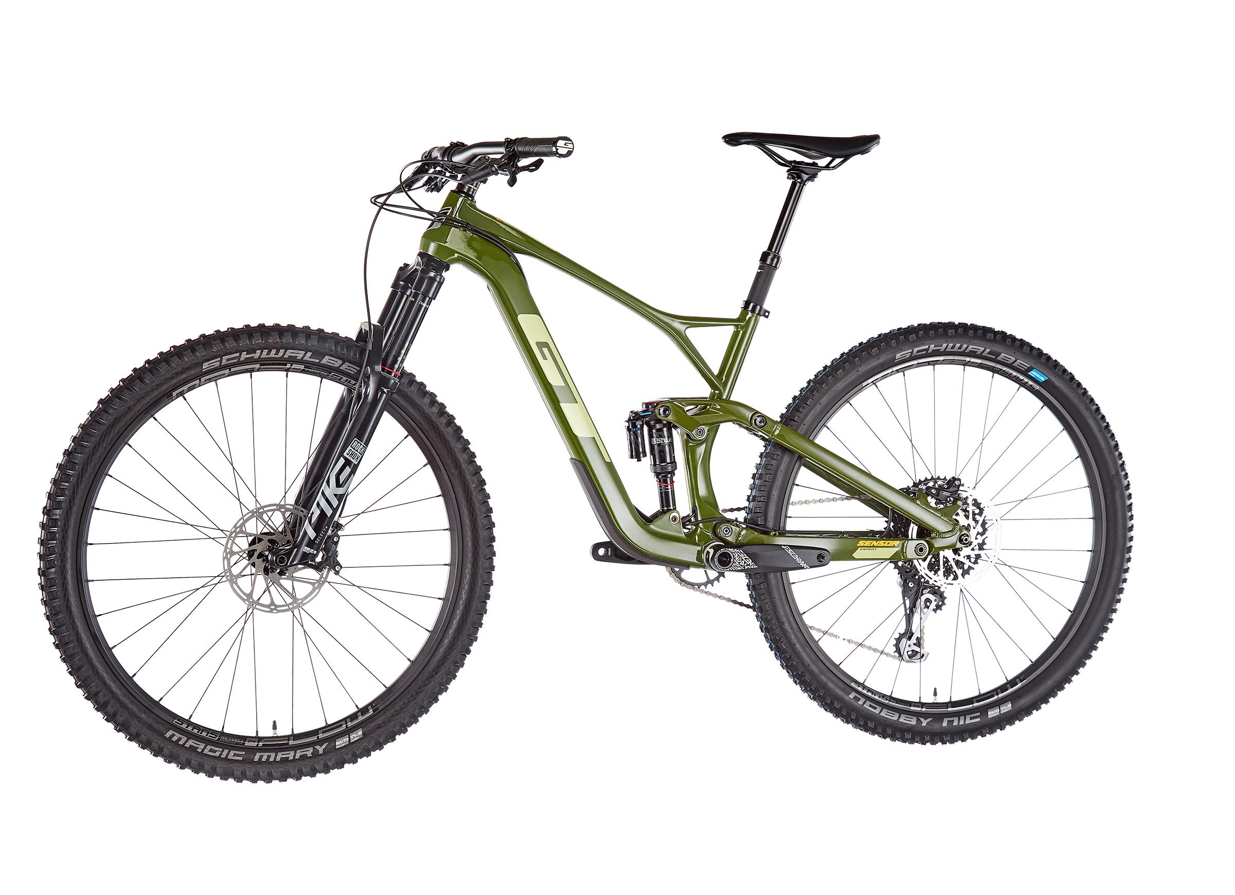"GT Bicycles Sensor Carbon Expert 29"" gloss military green"