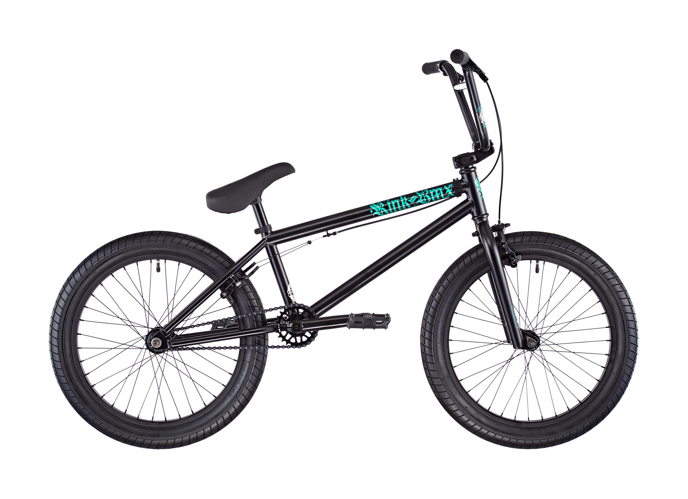 """Kink BMX Curb 2020 20"""" matte guinness black"""