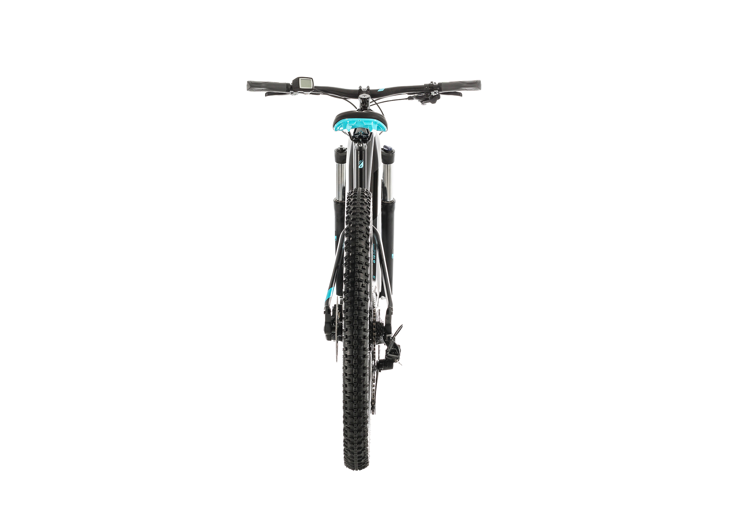 Cube Access Hybrid EX 500 Damen black'n'aqua