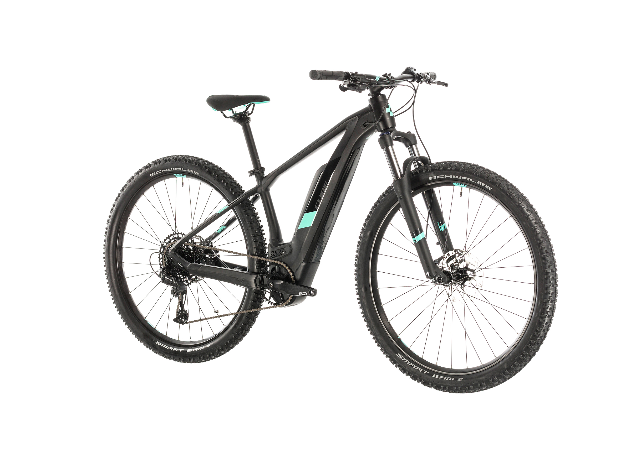 Cube Access Hybrid Pro 500 Damen black'n'mint