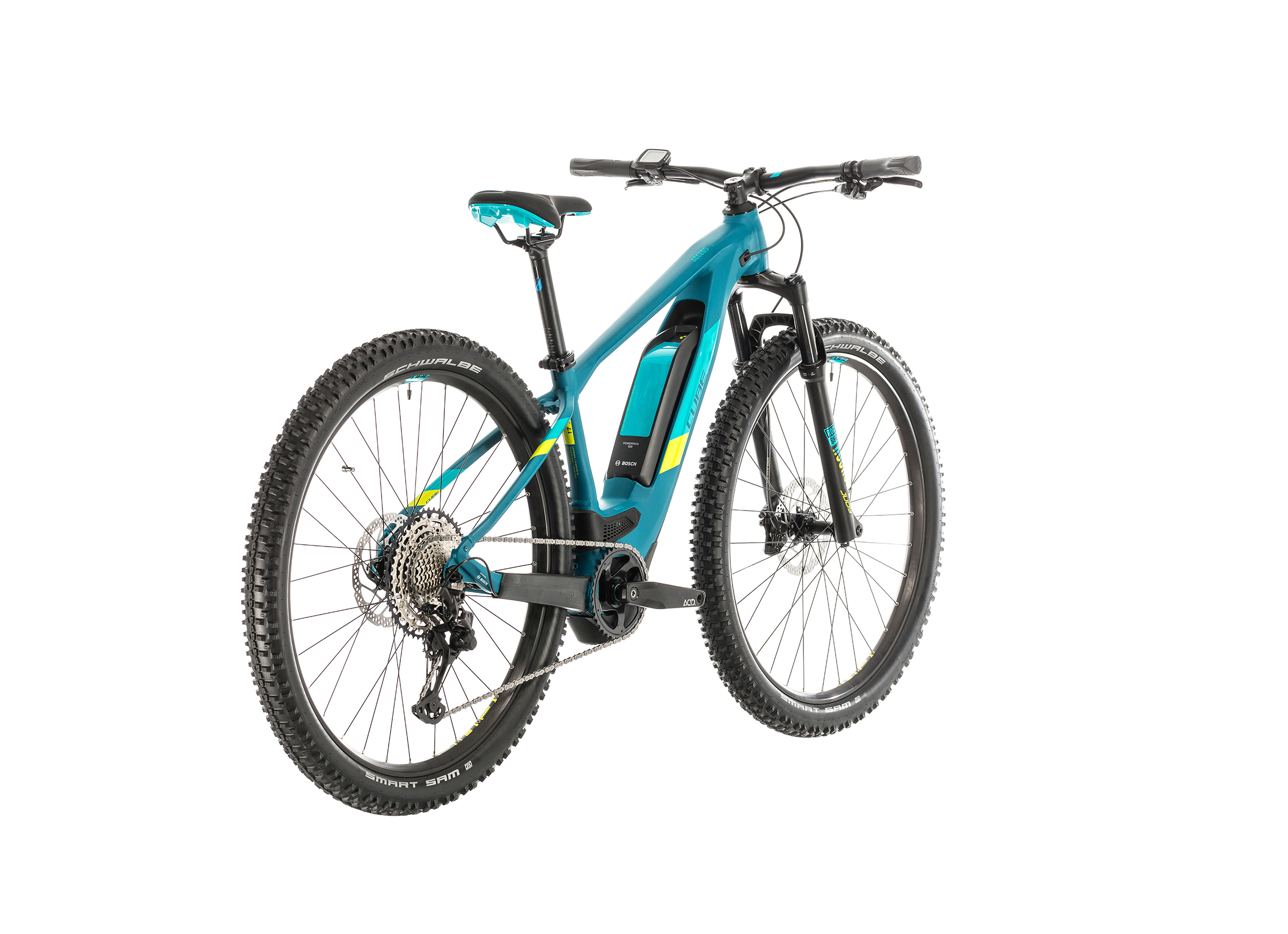 Cube Access Hybrid Race 500 pinetree'n'lime