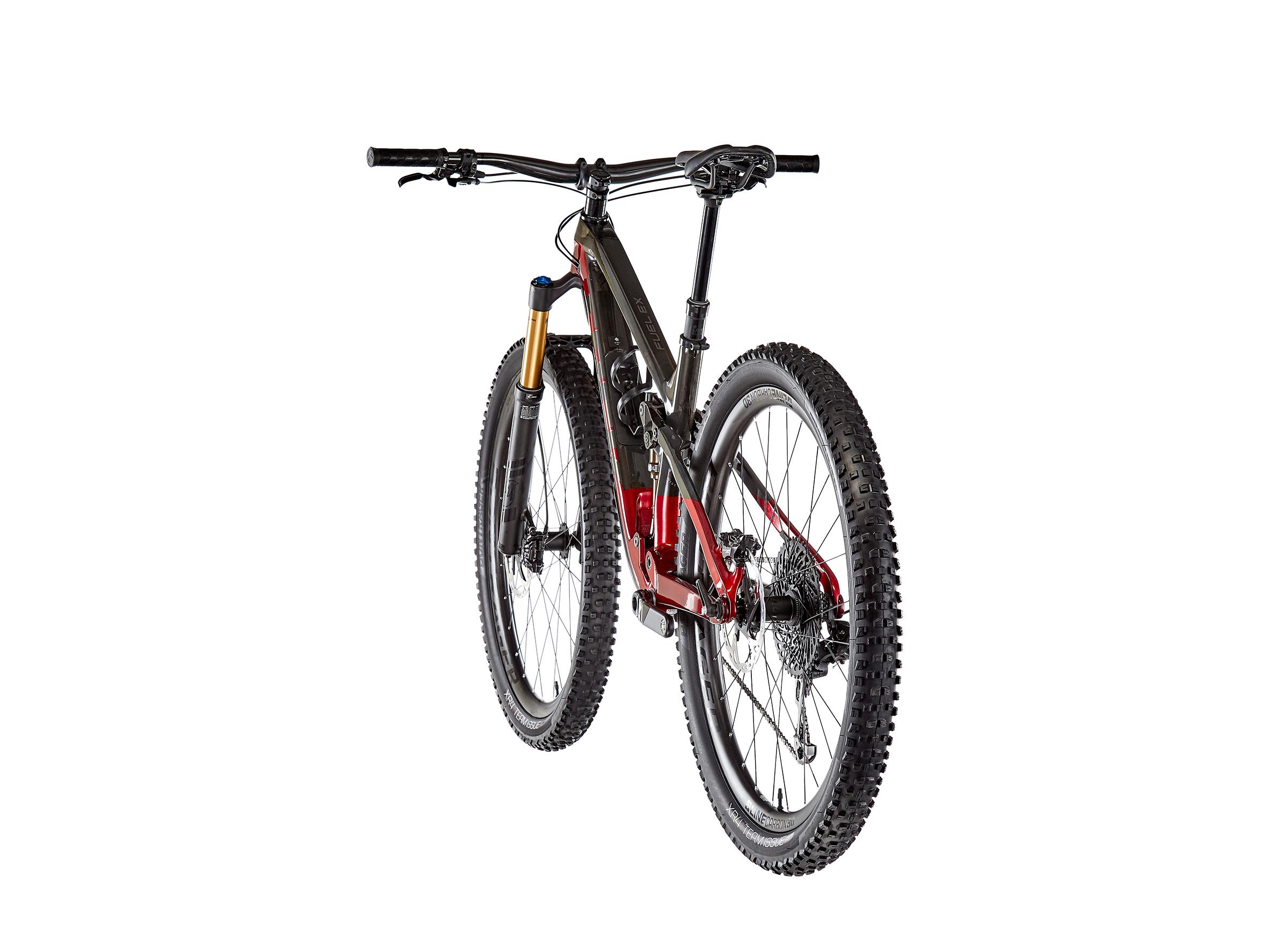 Trek Fuel EX 9.9 XO1 raw carbon/rage red