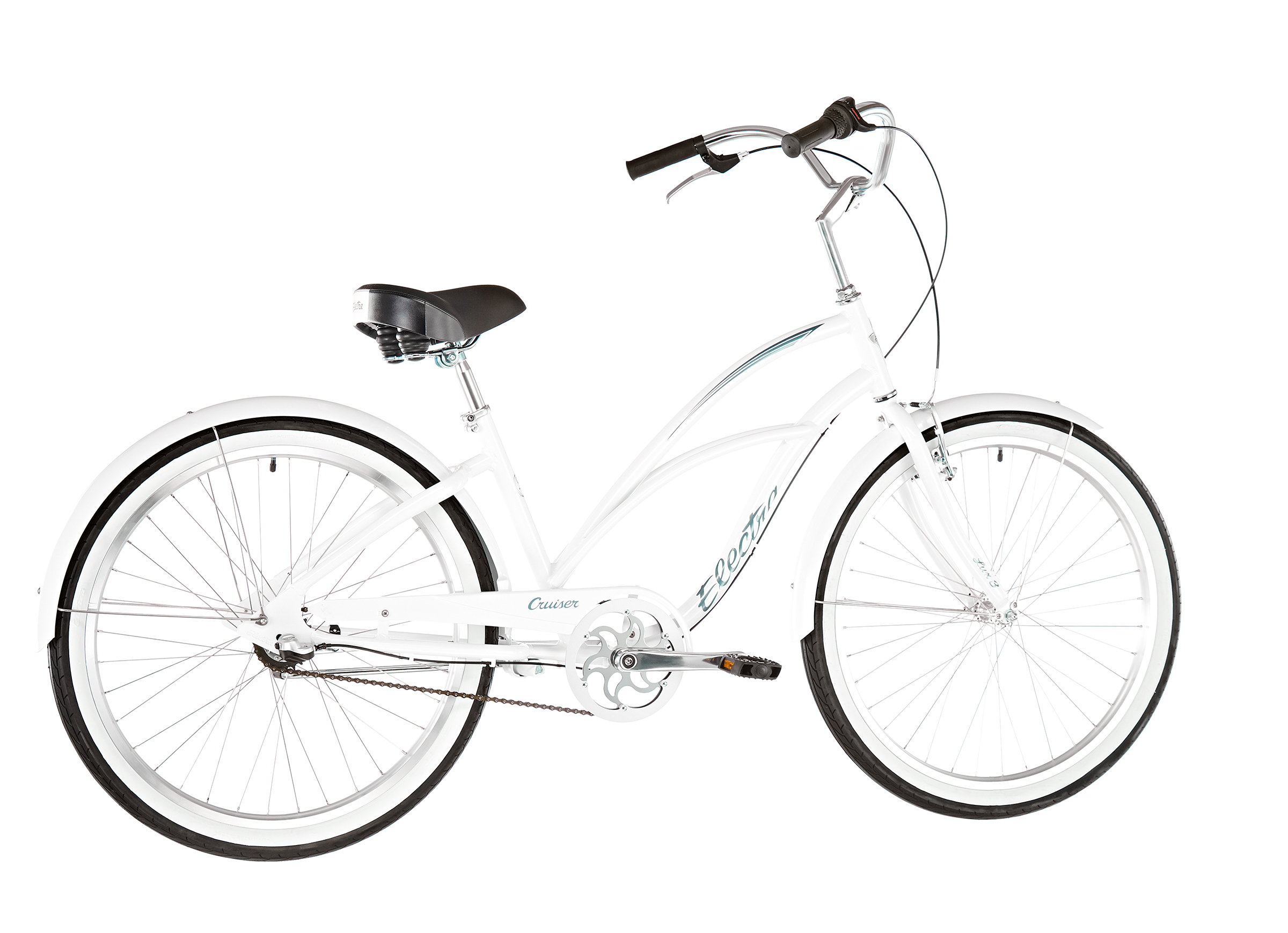 "Electra Cruiser Lux 3i 26"" Damen white"