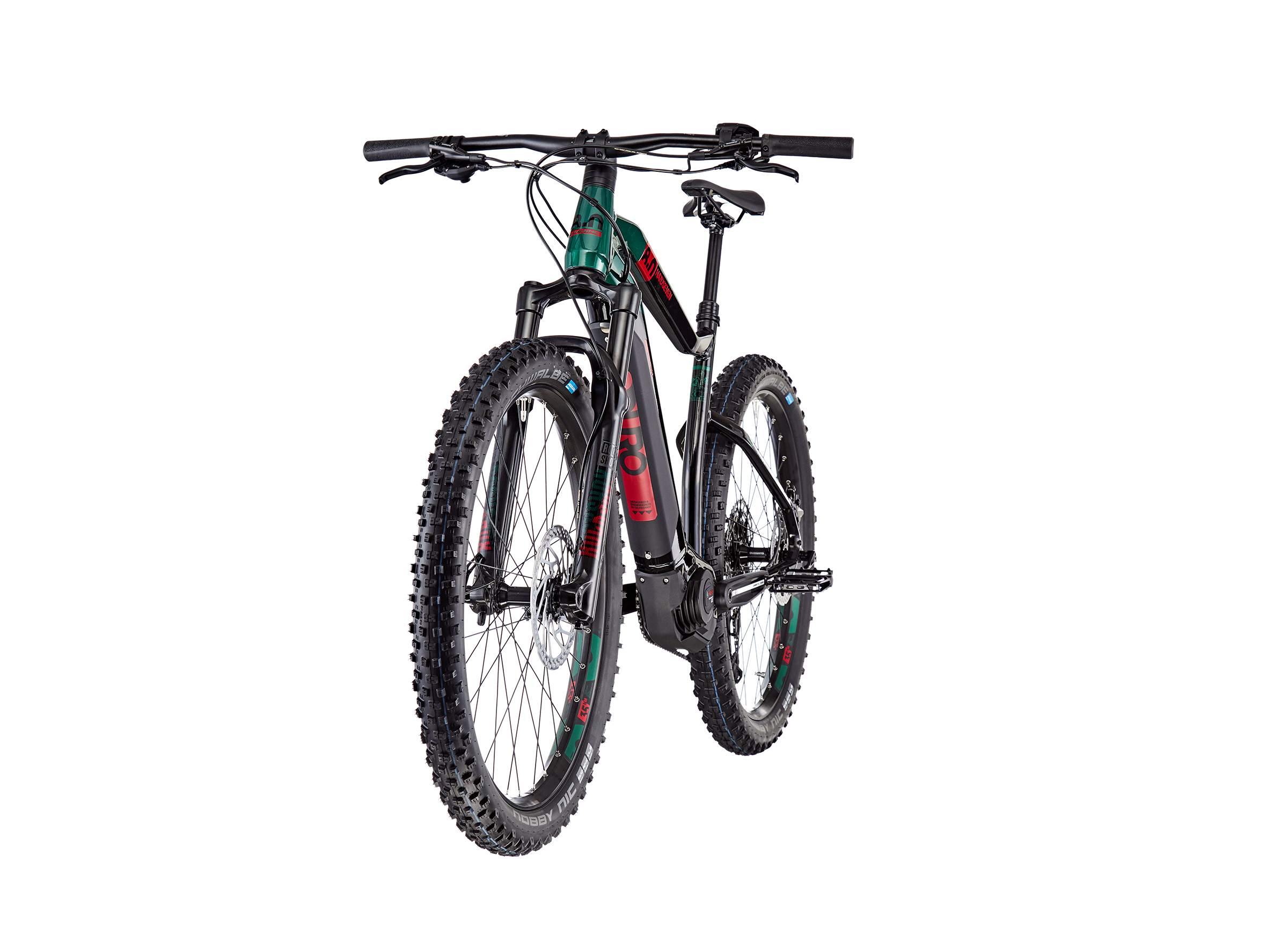 HAIBIKE SDURO HardSeven 8.0 black/kingston/red