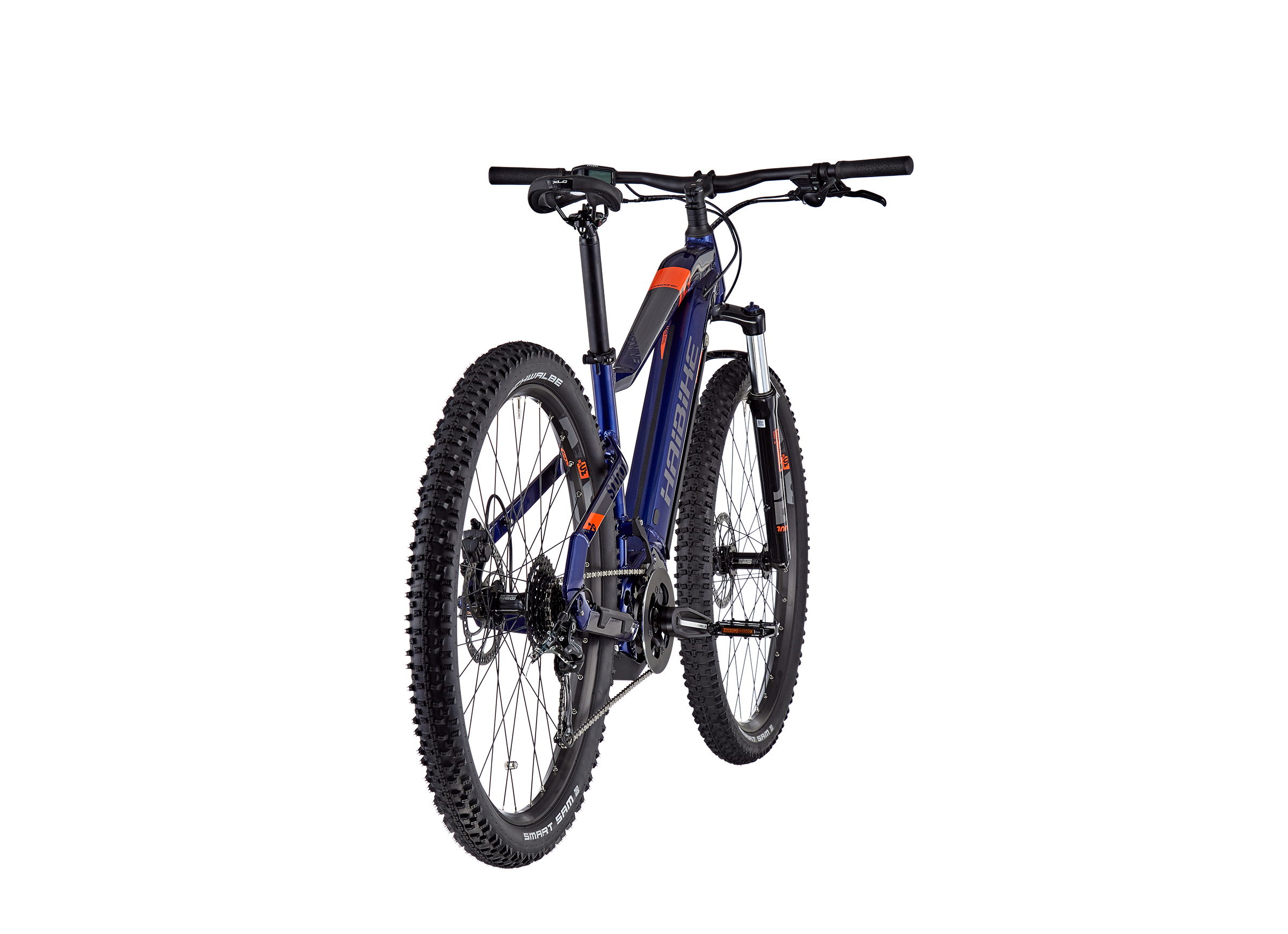HAIBIKE SDURO HardNine 1.5 blue/orange/titan