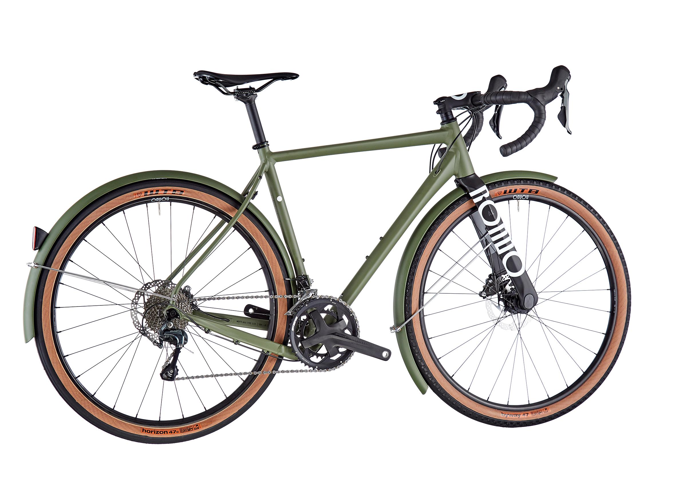 RONDO Mutt AL Audax Road Plus army green/black