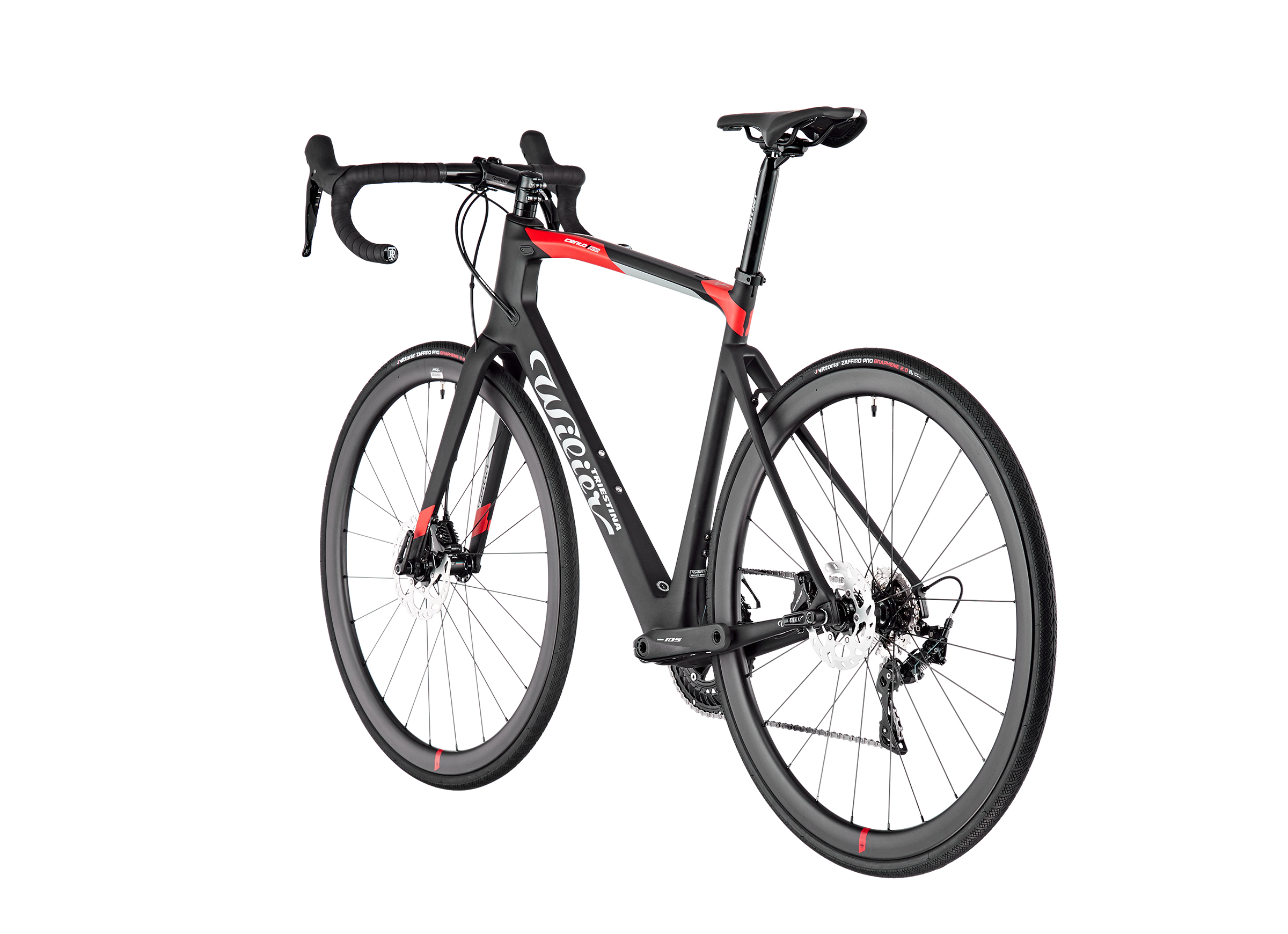 Wilier Cento 1 NDR Disc 105 black/red