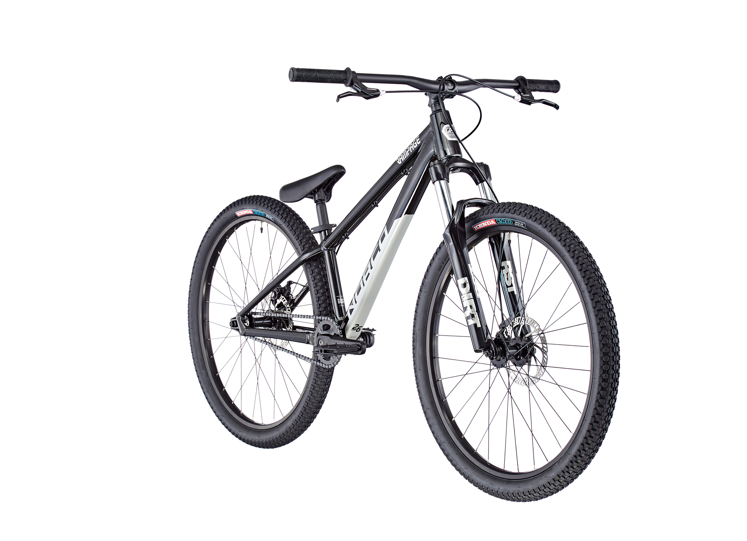 """Norco Bicycles Rampage 2 26"""" black/silver"""