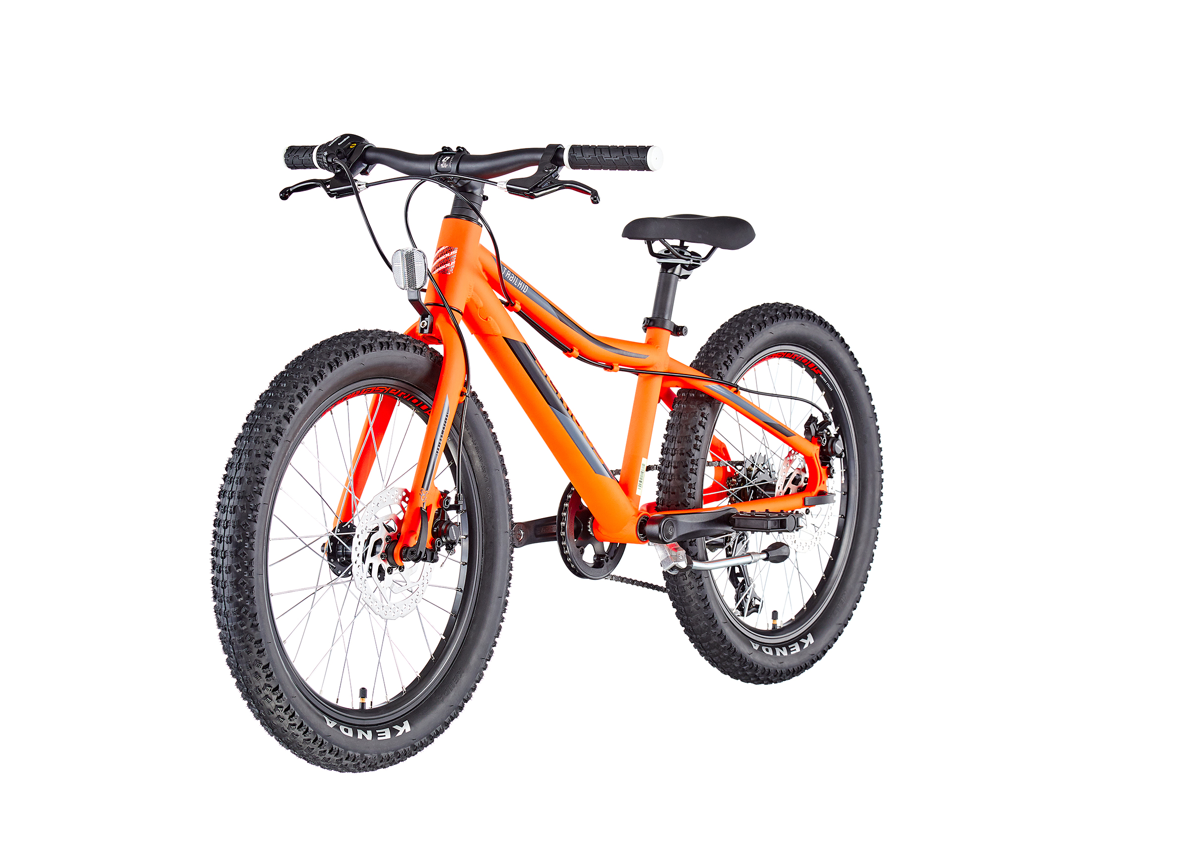 """Serious Trailkid 20"""" Kinder race fire red"""