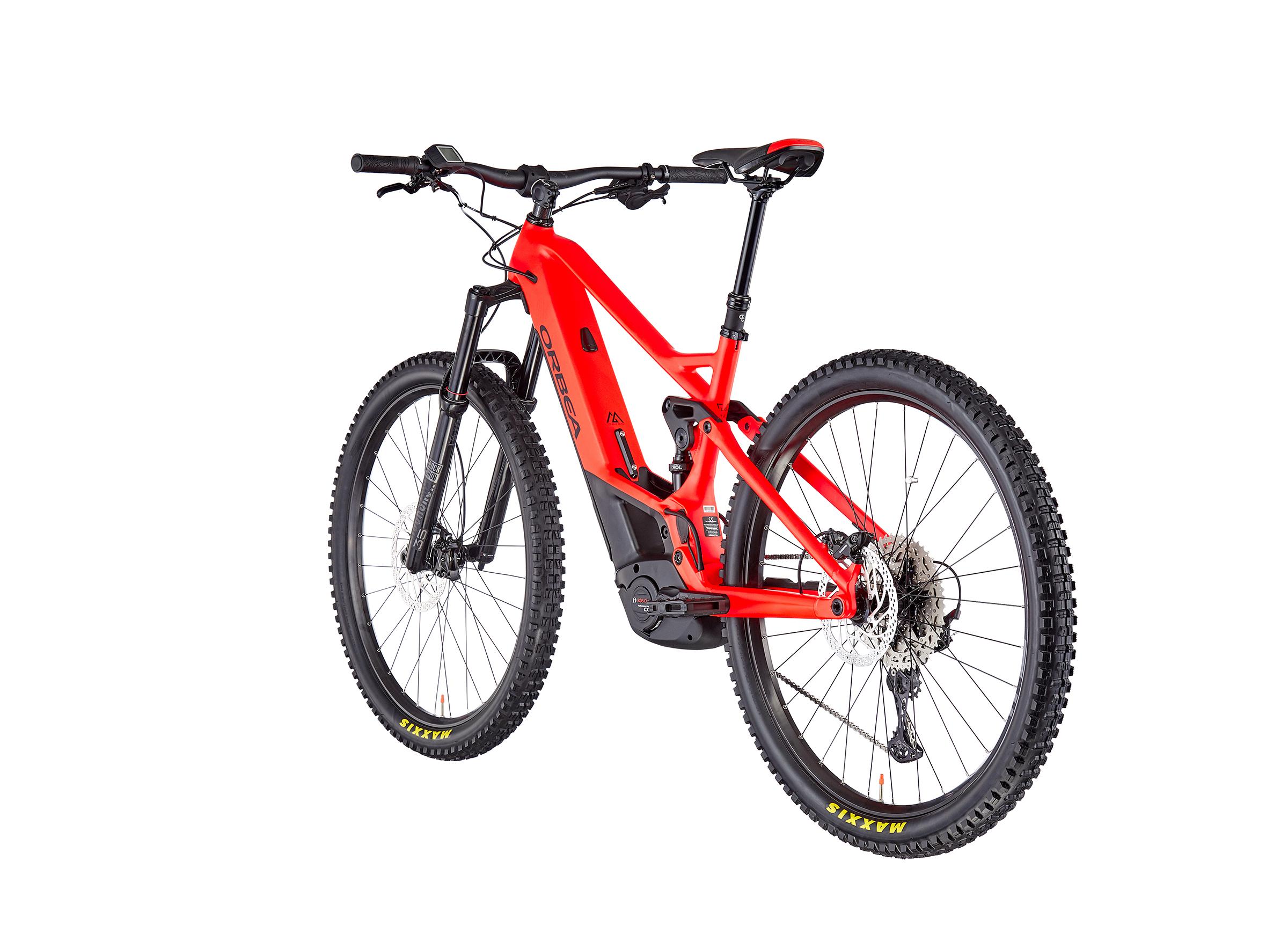ORBEA Wild FS H25 red/black