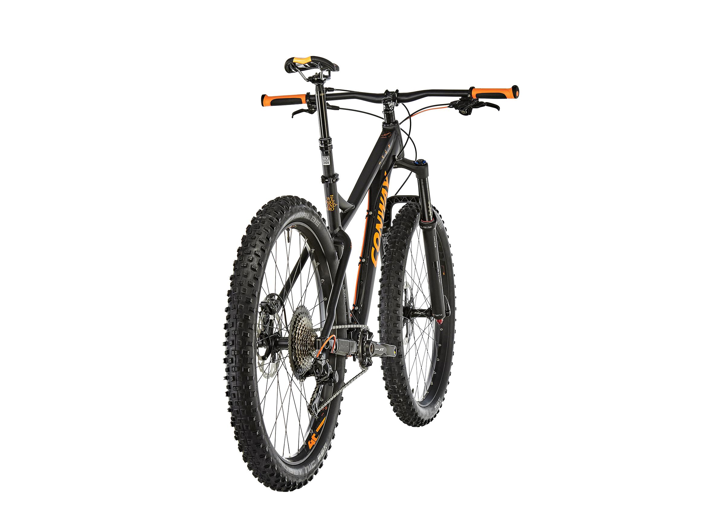 Conway MT 927 Plus Herren black matt/orange