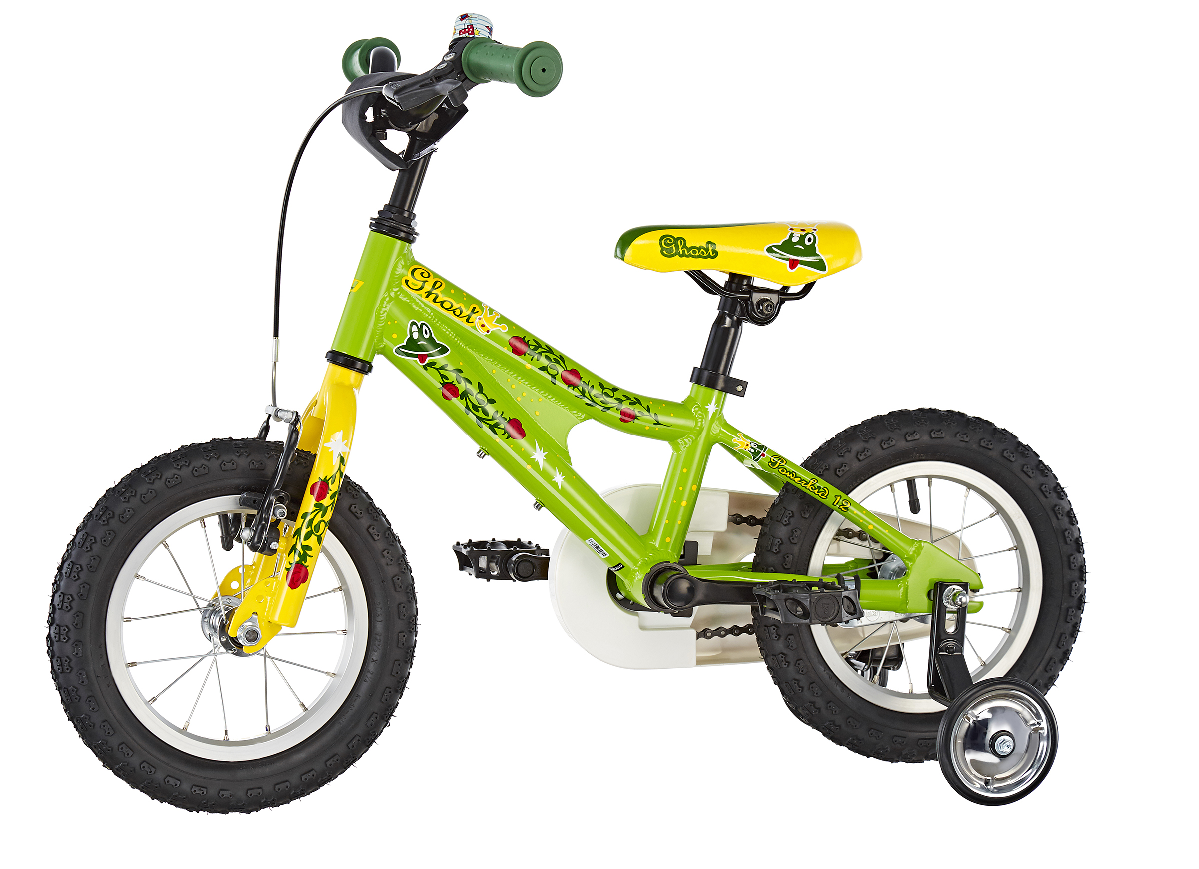 Ghost Powerkid AL 12 Kinder riot green/cane yellow/riot red