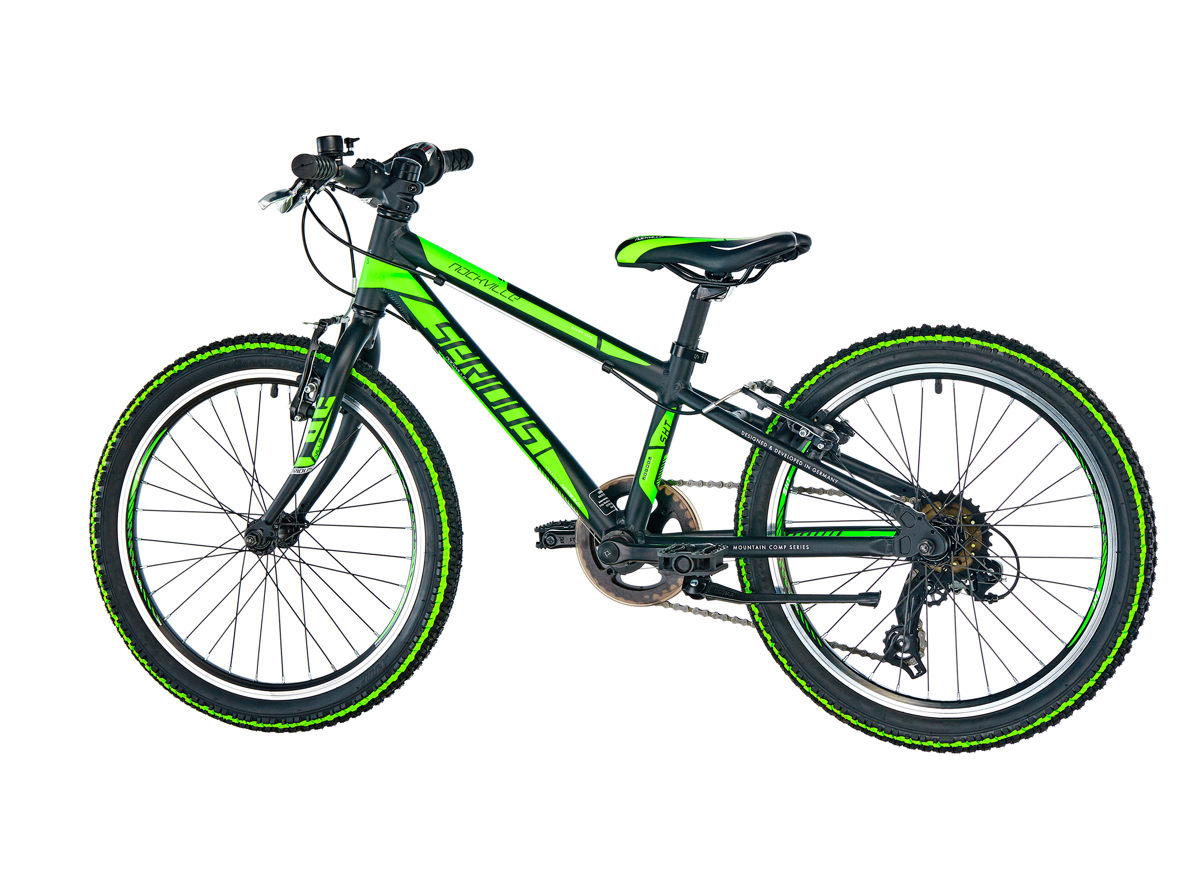 "Serious Rockville 20"" Kinder flash green"