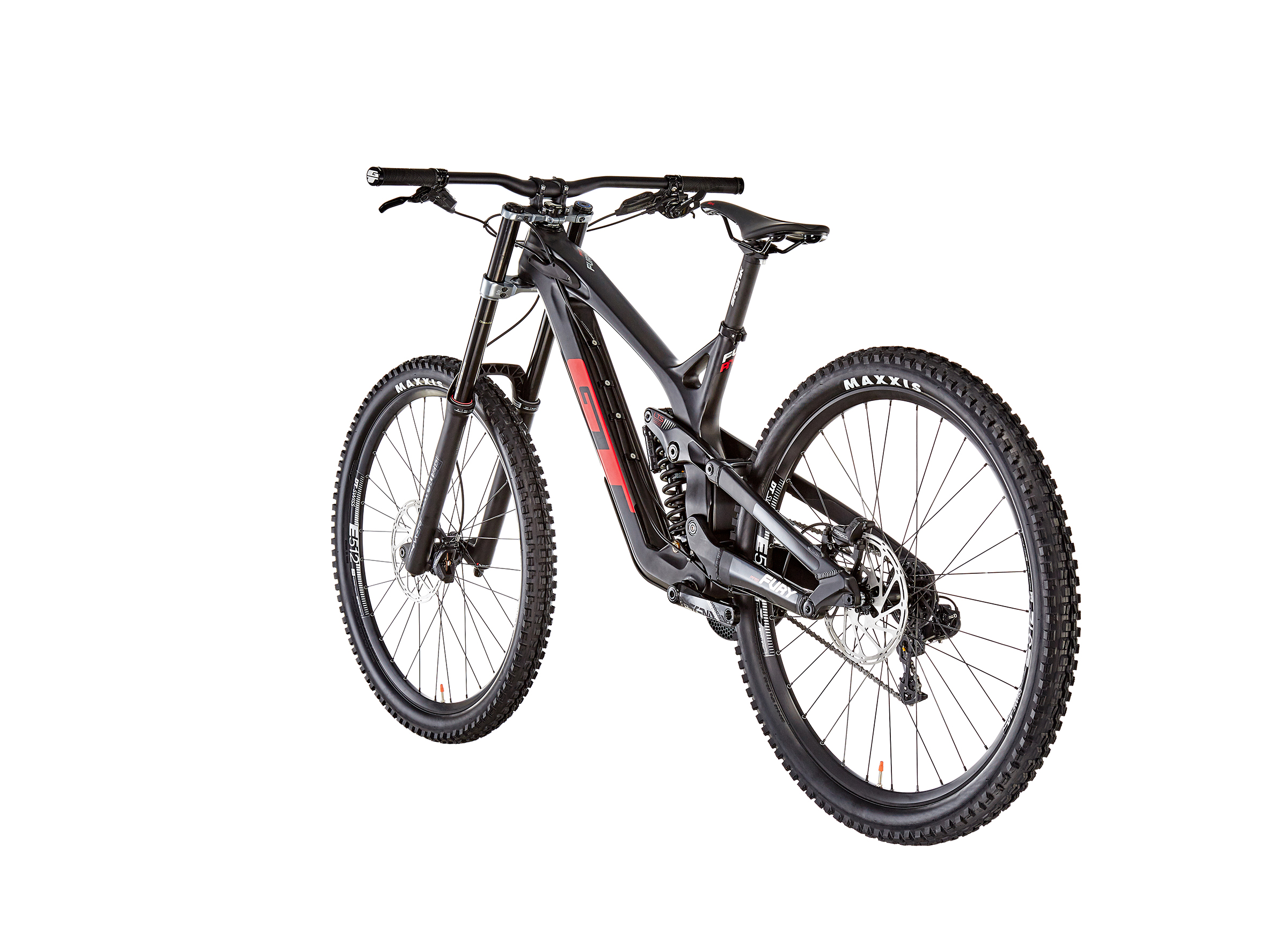 GT Bicycles Fury Pro gloss raw/black/red/silver