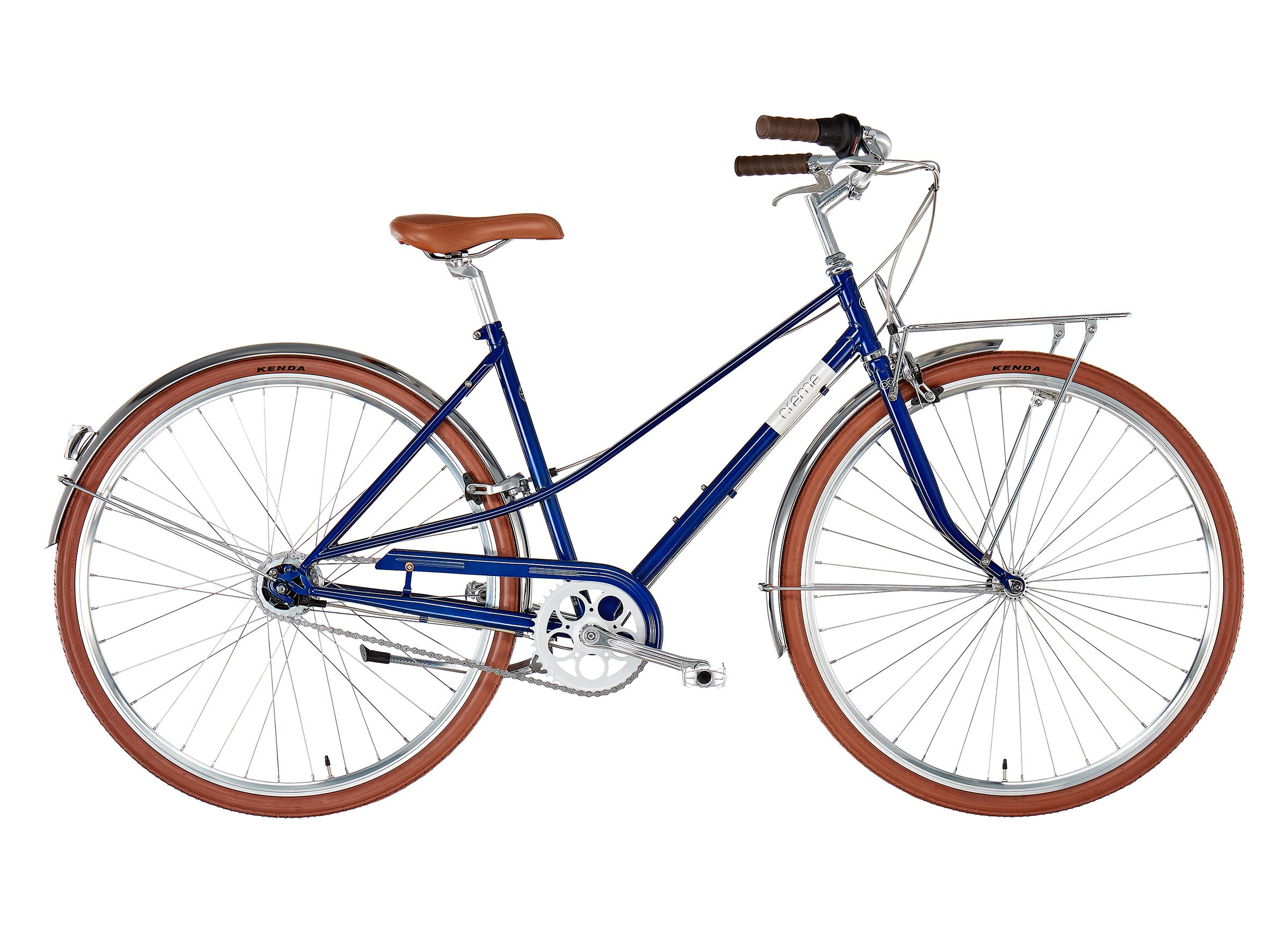 Creme Caferacer Solo Damen classic blue