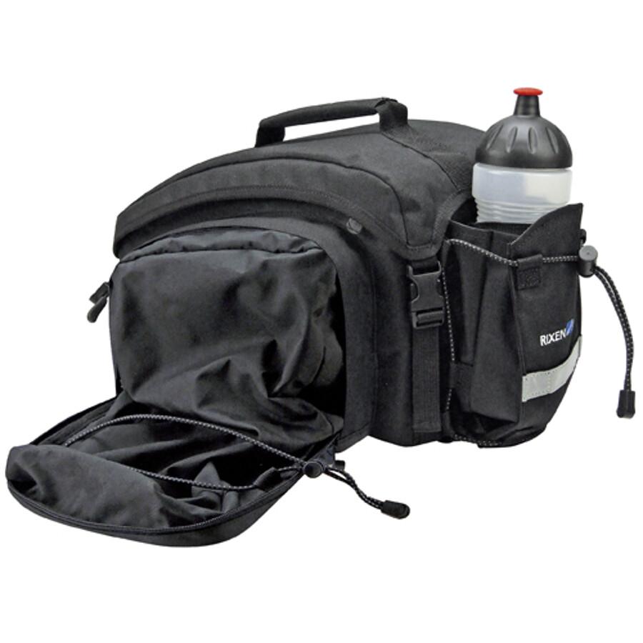 KlickFix Rackpack 1 Plus Sidetasker Til Racktime, black | Tasker til bagagebærer