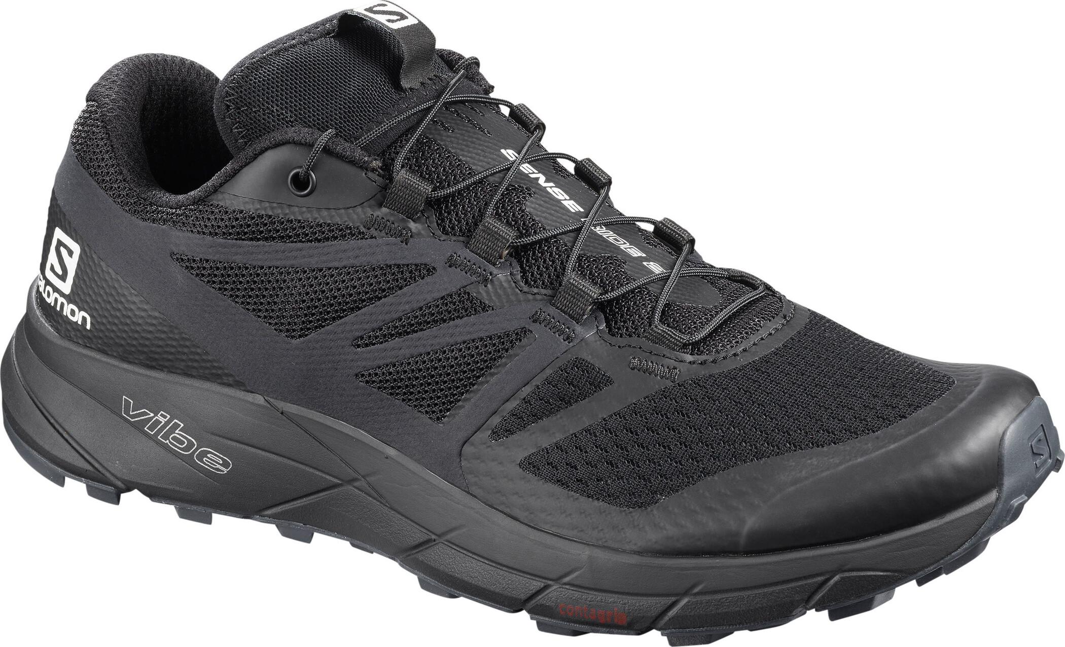 Salomon Sense Ride 2 Sko Damer, black phantom ebony | Sko