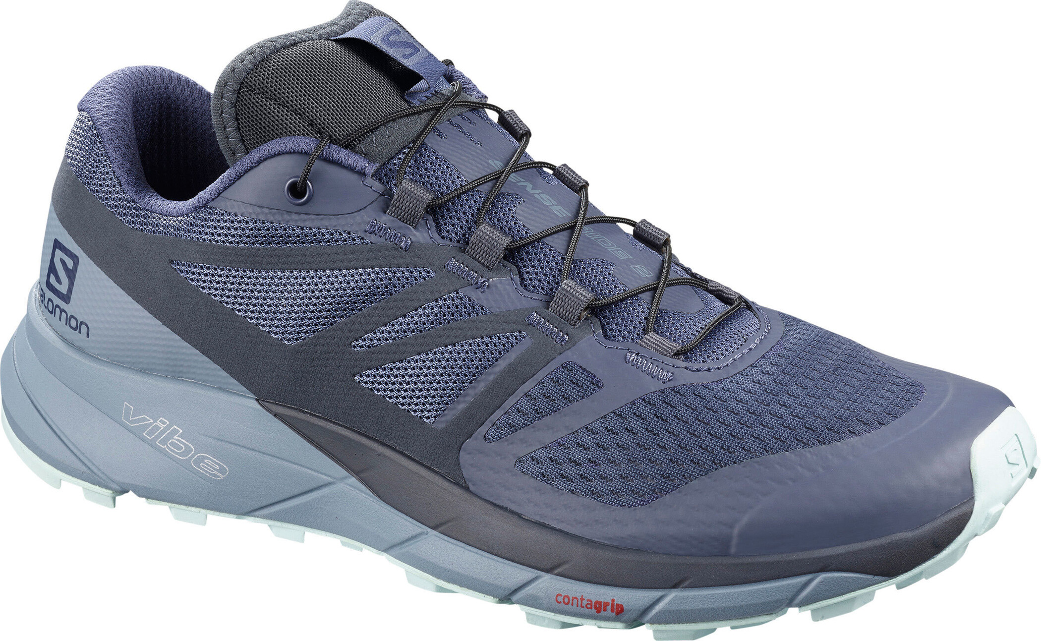 Salomon Sense Ride 2 Sko Damer, crown blue flint stone icy morn | Sko