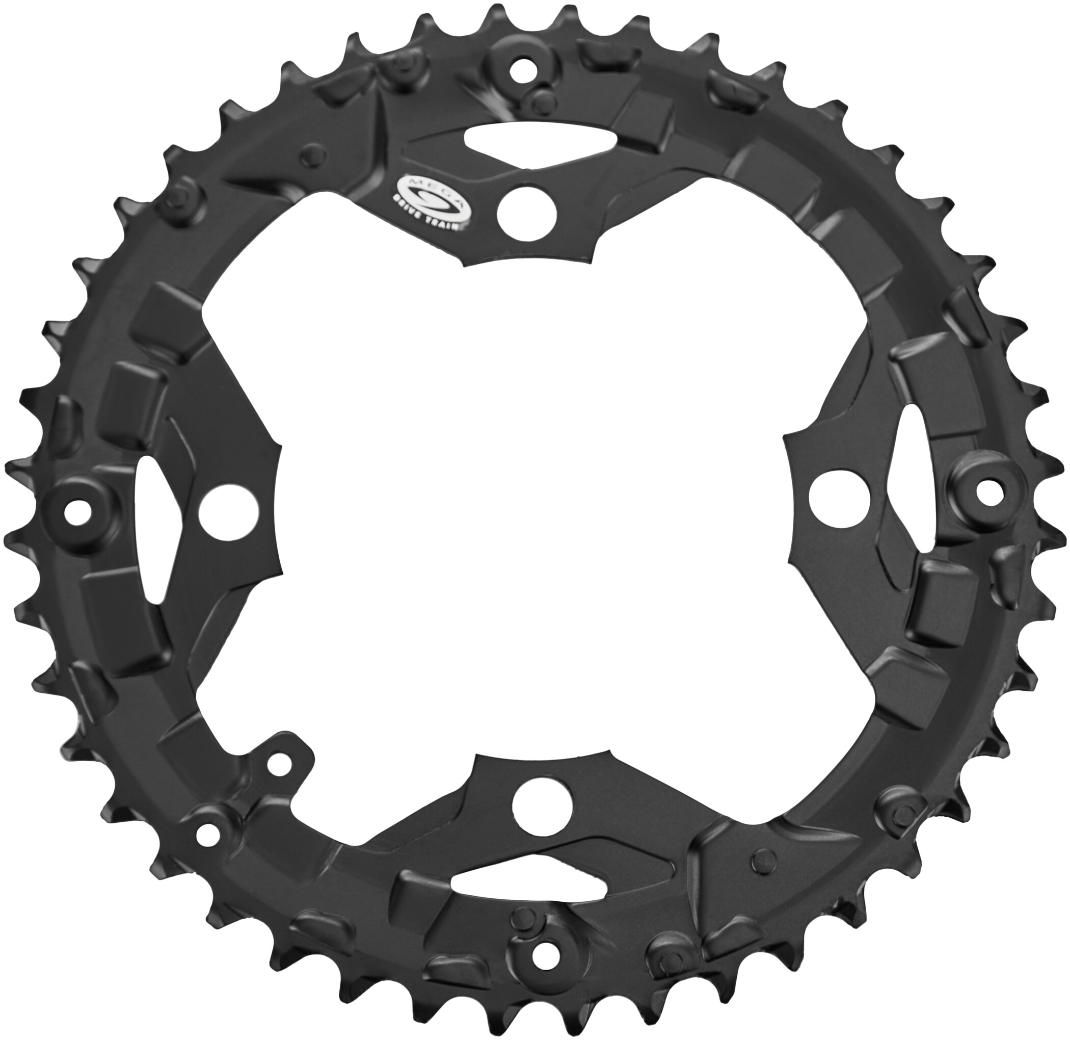 Shimano FC-MT300 Chainring 9-speed for KSR, black (2019) | chainrings_component