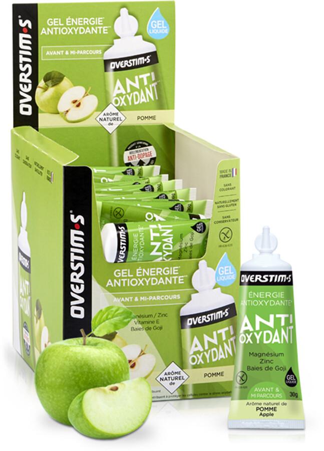 OVERSTIM.s Antioxydant Liquid Gel Box 36x30g, Apple (2019) | Misc. Nutrition