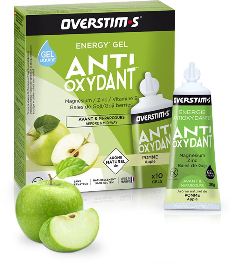 OVERSTIM.s Antioxydant Liquid Gel Box 10x30g, Apple (2019) | Misc. Nutrition