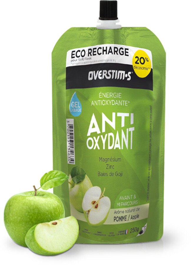 OVERSTIM.s Antioxydant Liquid Gel Pouch 250g, Apple | Waist bags