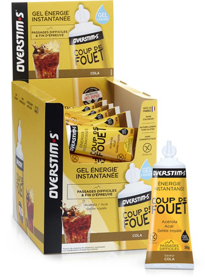 OVERSTIM.s Coup de Fouet Liquid Gel Box 36x30g, Cola | Energi og kosttilskud > Tilbebør
