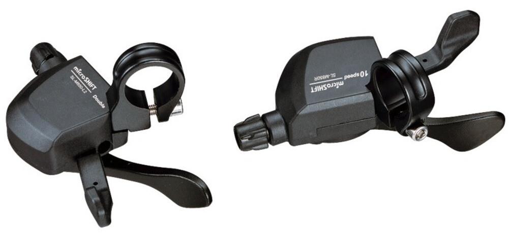 microSHIFT XLE SL-M850 Gearskifter, black (2019) | Gear levers