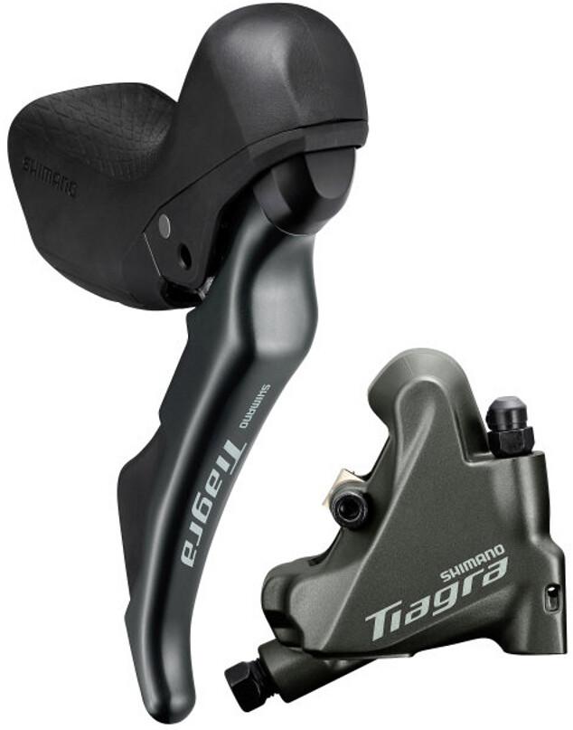 Shimano Tiagra ST-4720/BR-4770 Disc Brake Rear Wheel FM L03A Resin 10-speed, grey (2020) | Brake pads