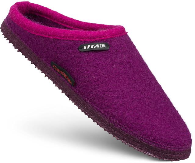 Giesswein Naurath Damen Pantoffel Wolle Violett Violett
