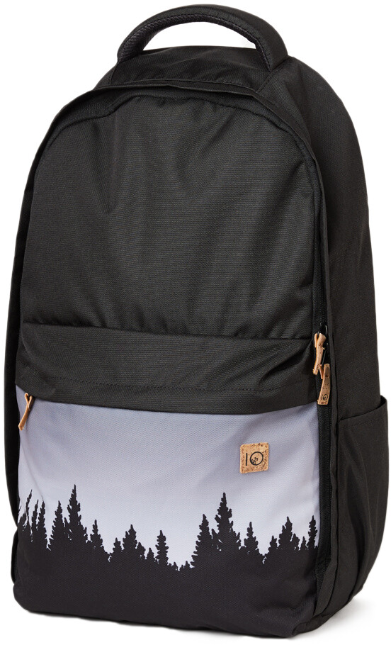 tentree Motion 24L Rygsæk, meteorite black juniper (2019) | Travel bags