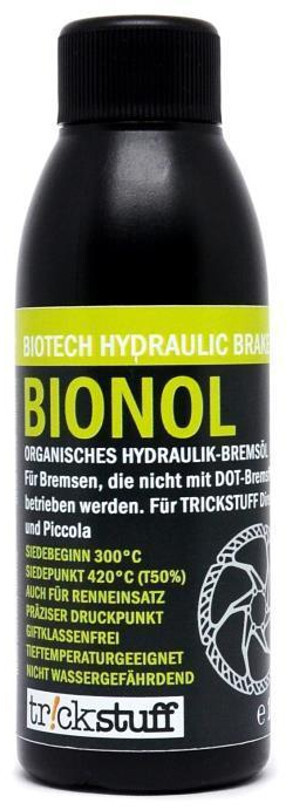 Trickstuff Bionol Hydraulikolie 100ml | Bremseskiver og -klodser