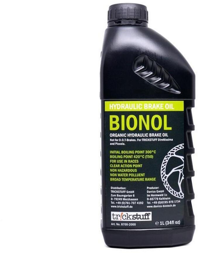 Trickstuff Bionol Hydraulikolie 1l | Bremseskiver og -klodser
