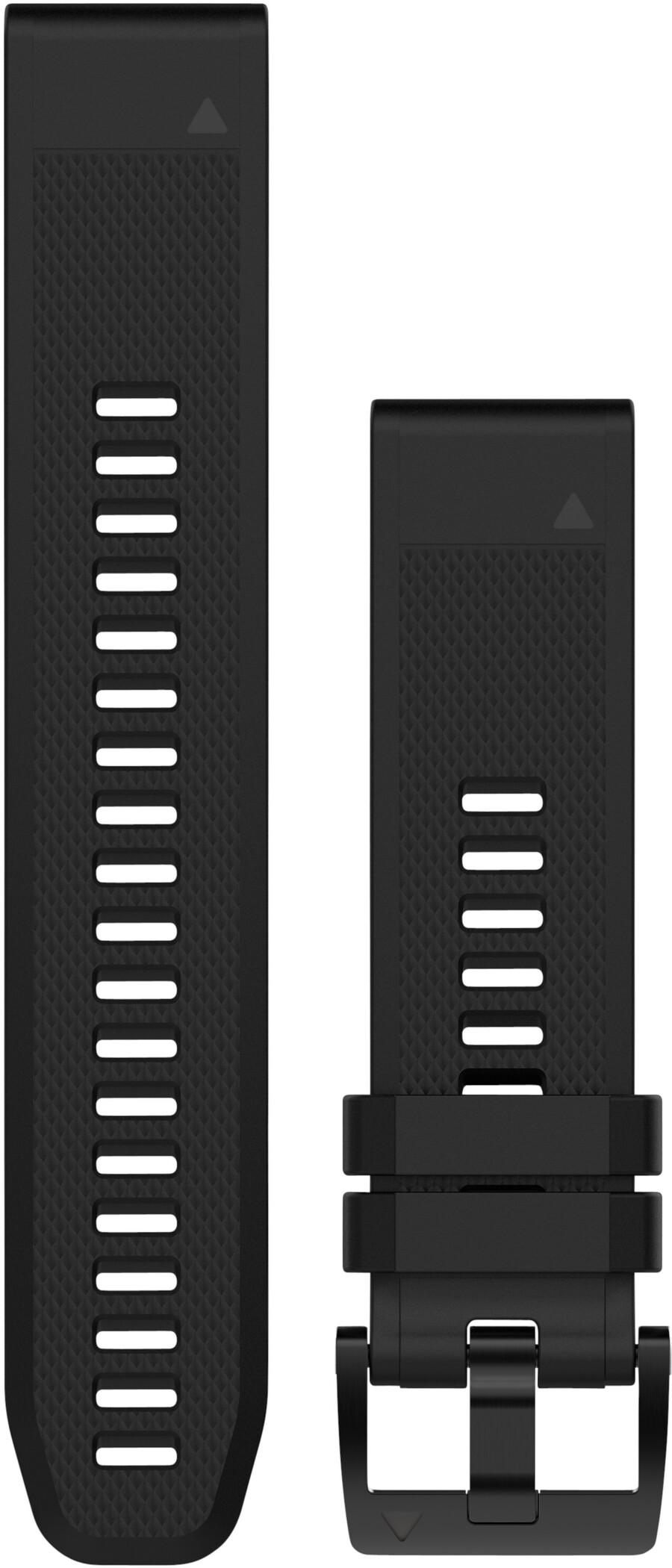 Garmin QuickFit Læderurrem 22mm, black (2019) | Pulsure