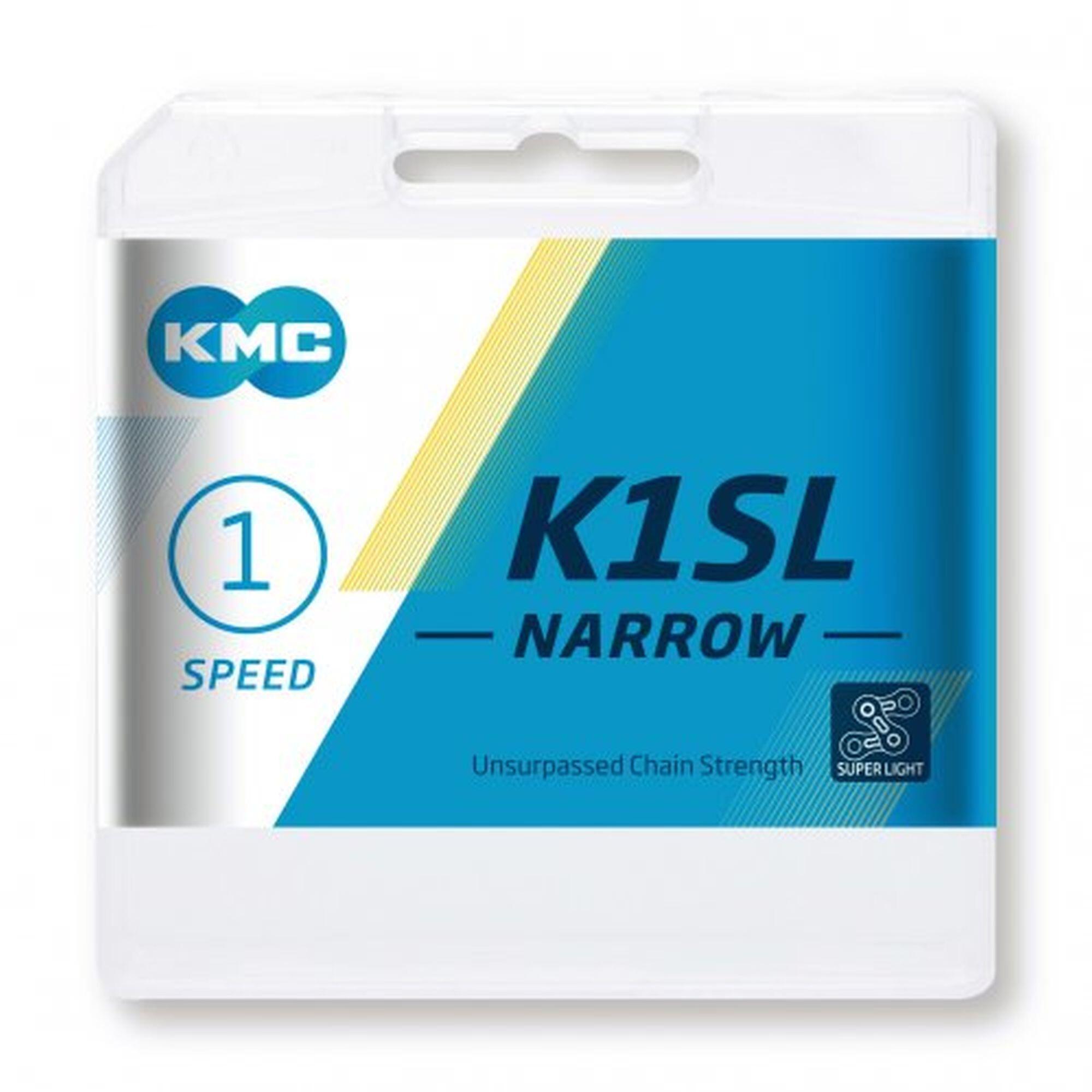 KMC K1SL Narrow Ti-N Kæde 1-speed, gold | Kæder