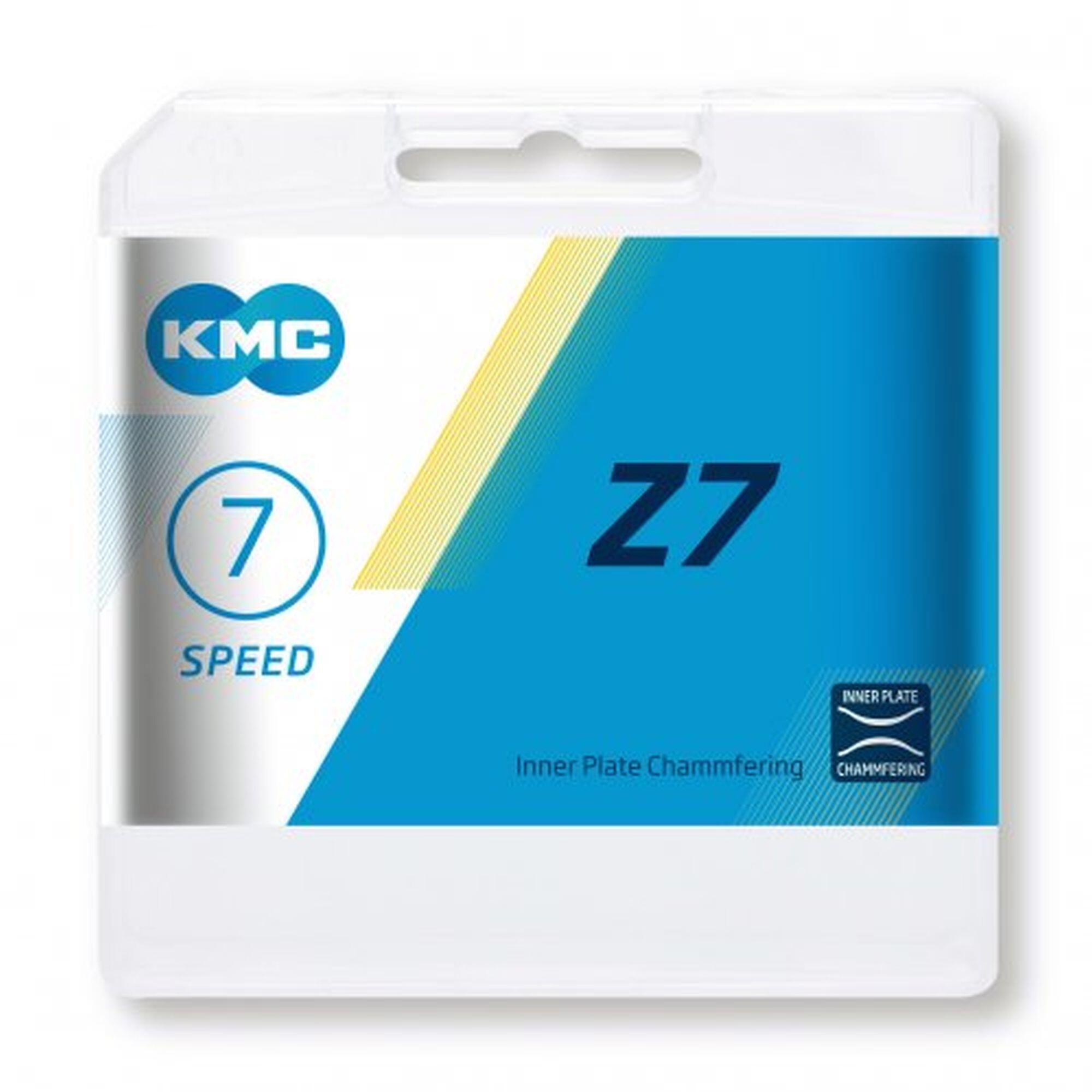 KMC Z7 Kæde 6-/7-speed, grey/brown | Kæder