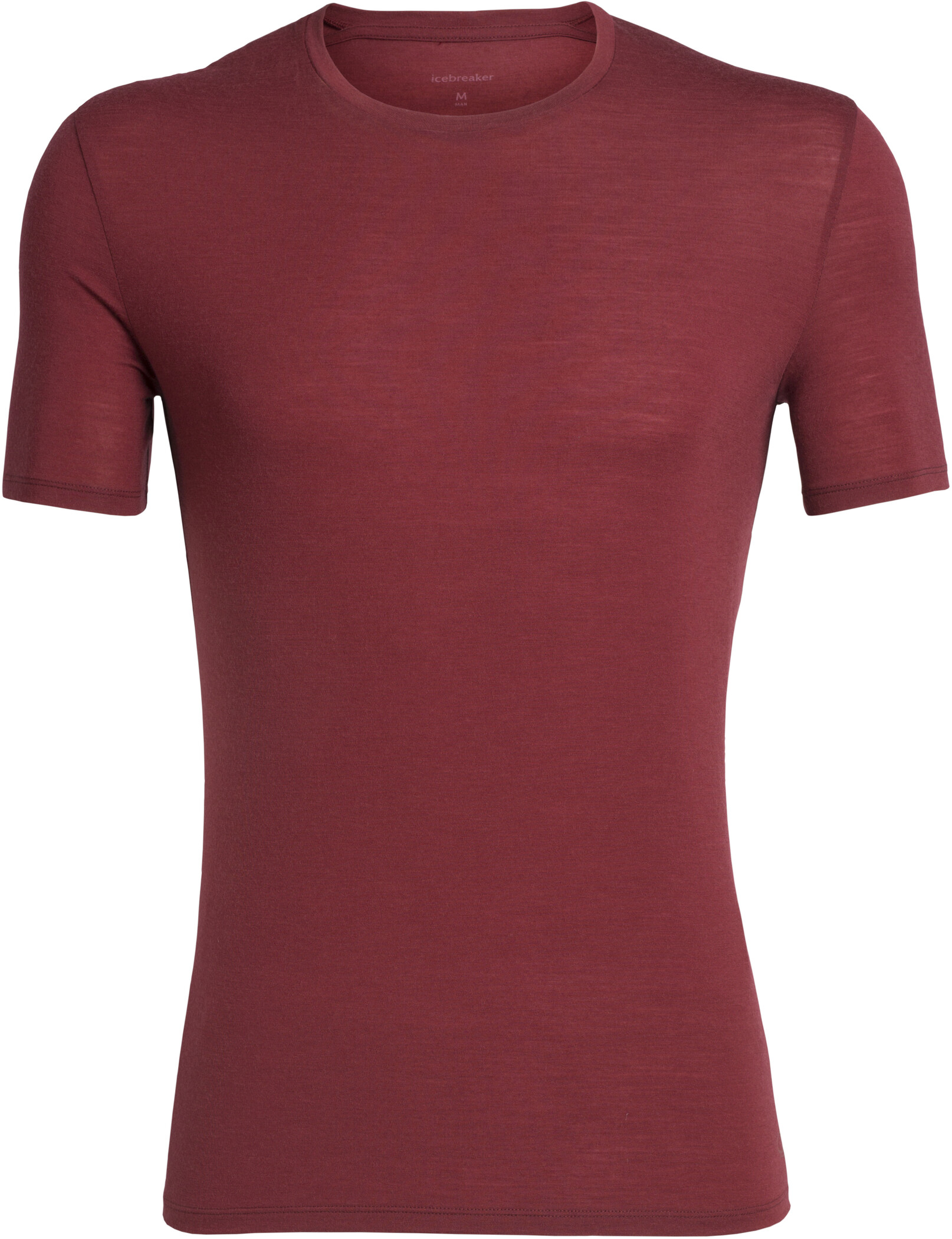 Icebreaker Anatomica T-shirt Herrer, cabernet (2019) | Base layers