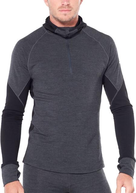 Hombre Icebreaker Winter Zone LS Half Zip Camisetas