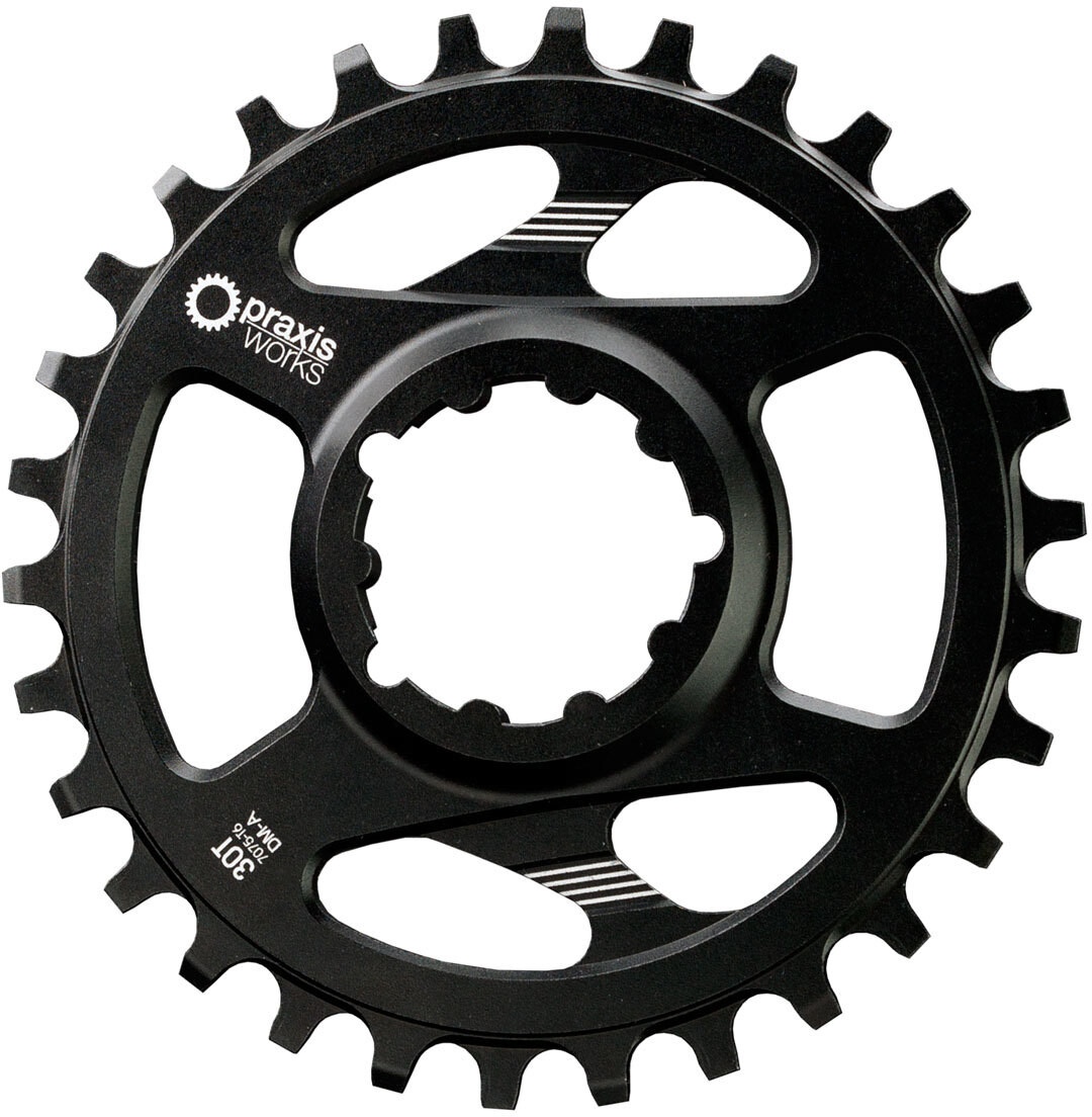 PRAXIS WORKS MTB Wave Tech Klinge 10/11/12-speed Direct Mount A/Non-Boost (2019) | chainrings_component