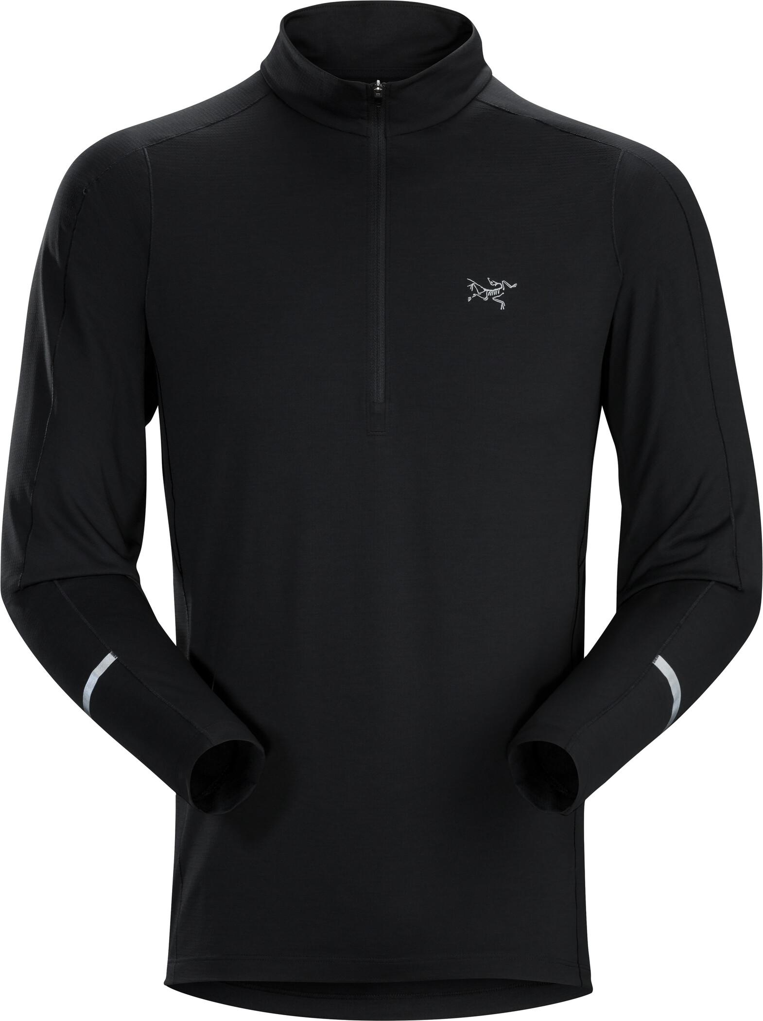 Arc'teryx Cormac Trøje m. lynlås Herrer, black (2019)   Jerseys