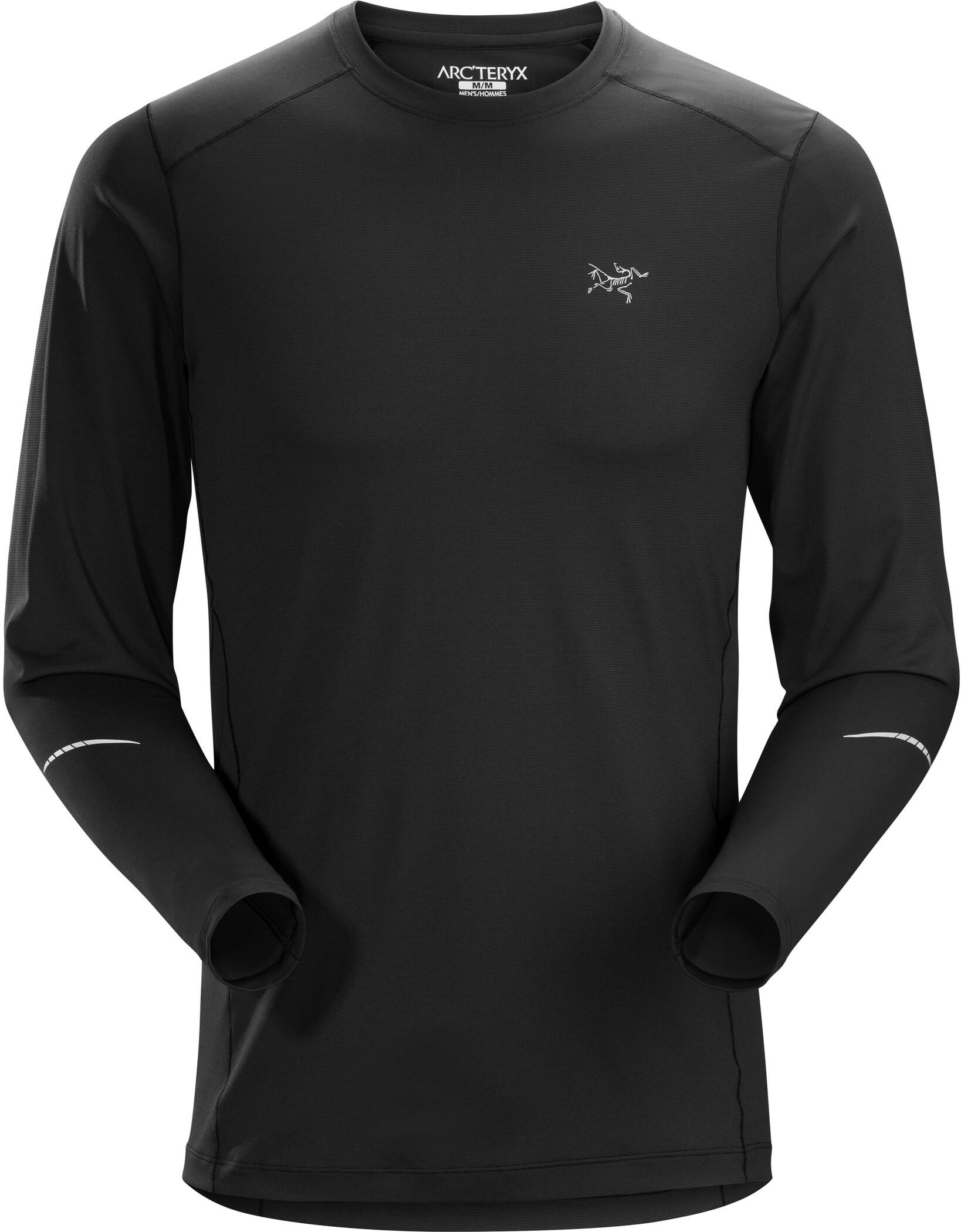 Arc'teryx Motus Langærmet T-shirt Herrer, black (2019)   Jerseys