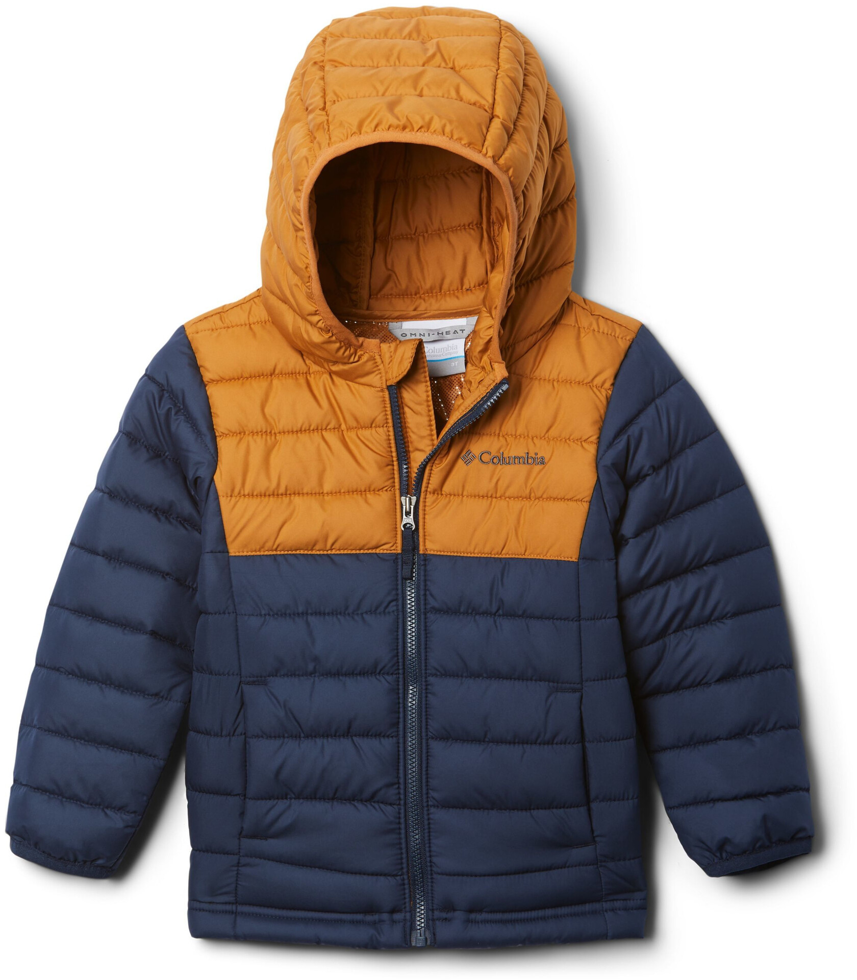 Giacca con Cappuccio Bambina Columbia Powder Lite Hooded