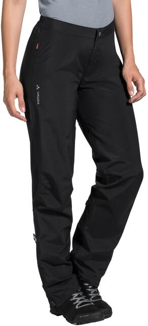 Vaude mens spray Pants III bicicleta lluvia pantalones negro