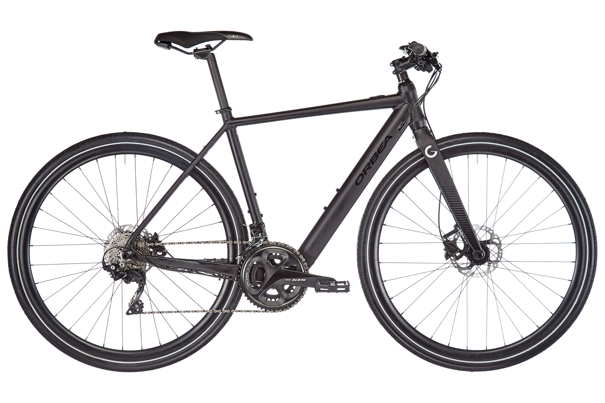 ORBEA Gain F20, black (2020) | City