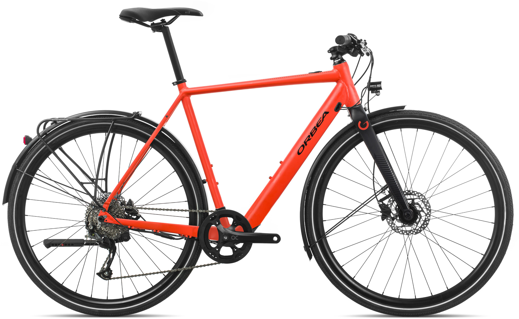 ORBEA Gain F35, red/black (2020) | City
