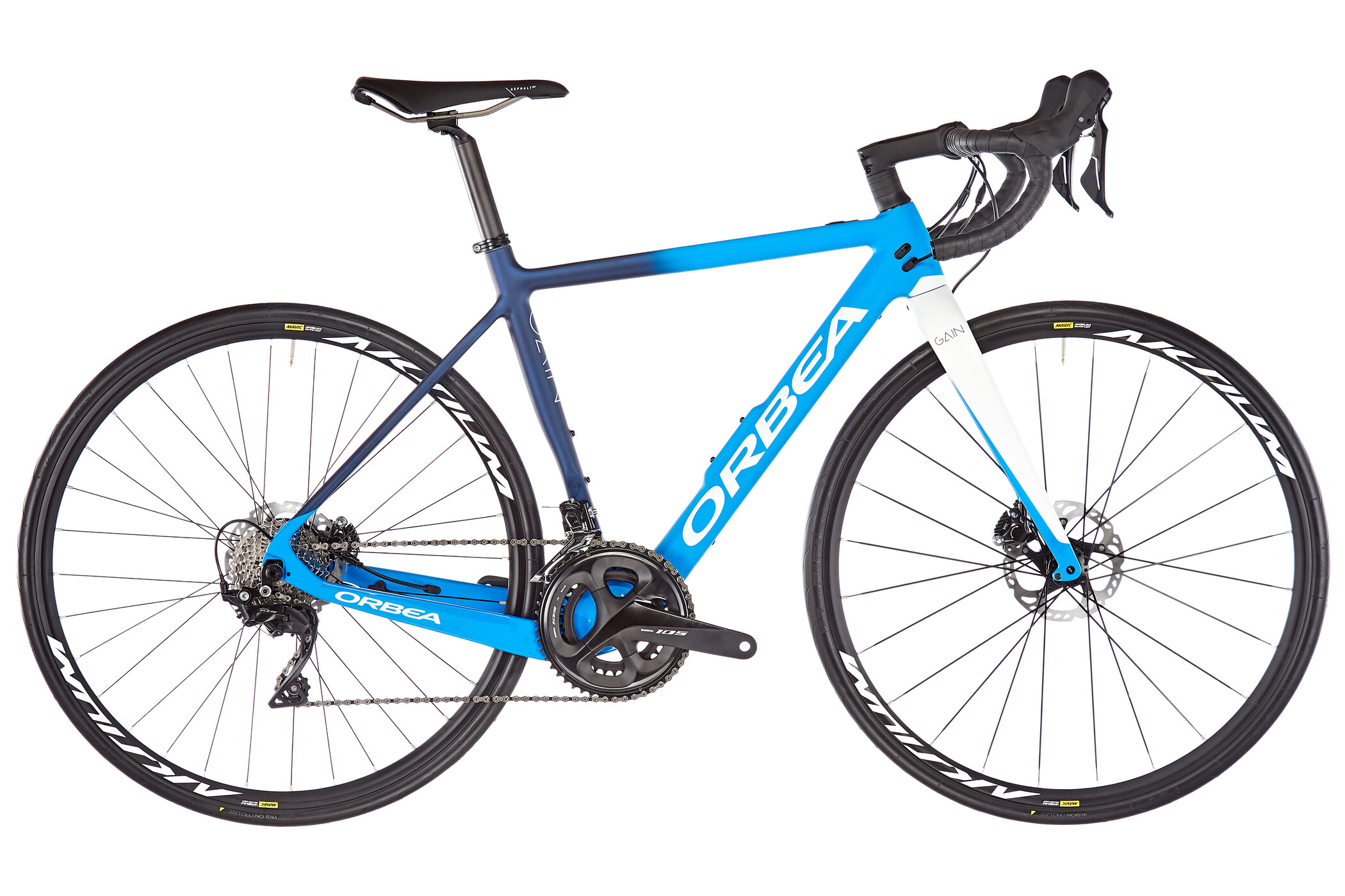 ORBEA Gain M30, blue/white (2020) | Road bikes