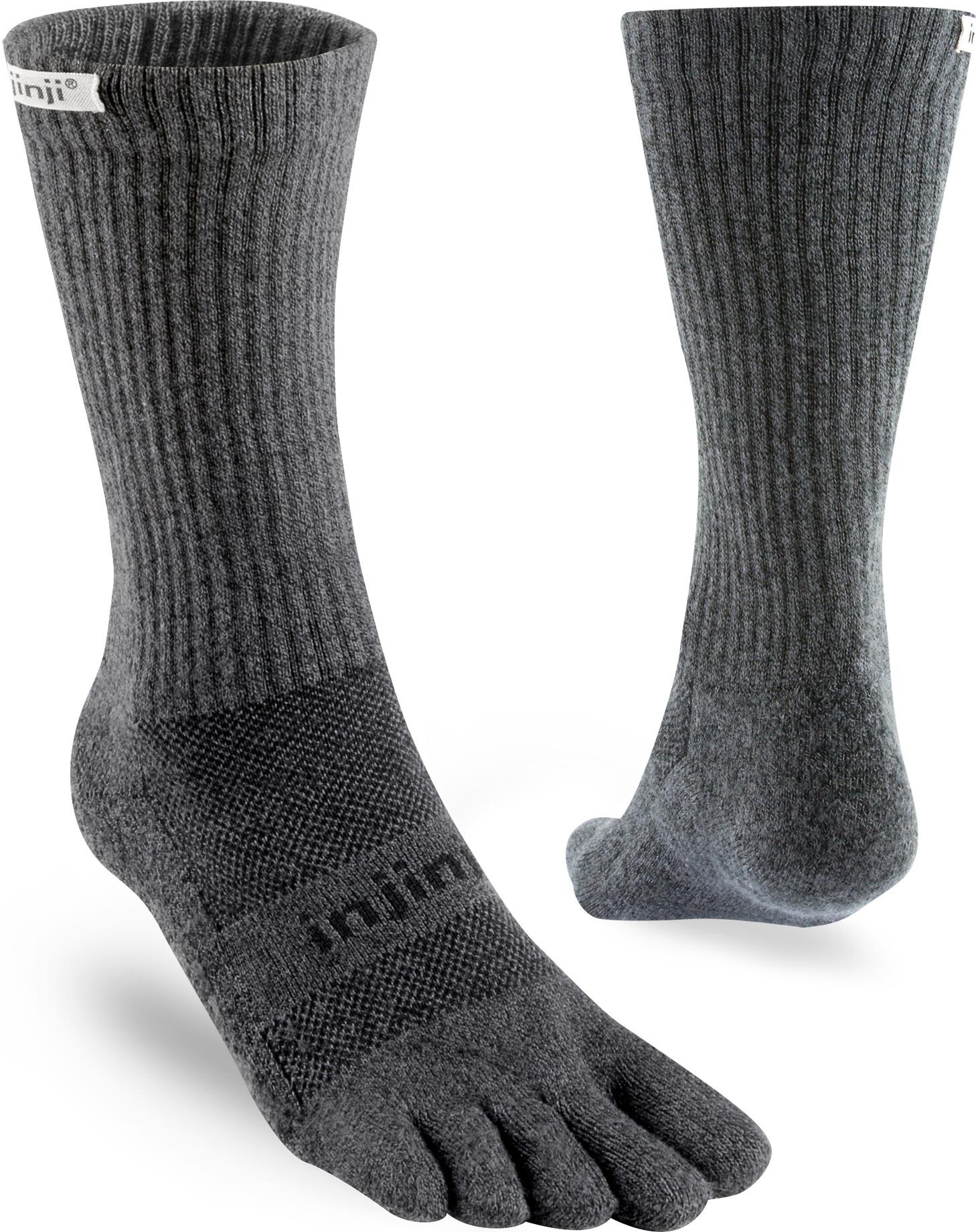 Injinji Trail Crew Xtralife Sokker Herrer, granite (2019) | Socks