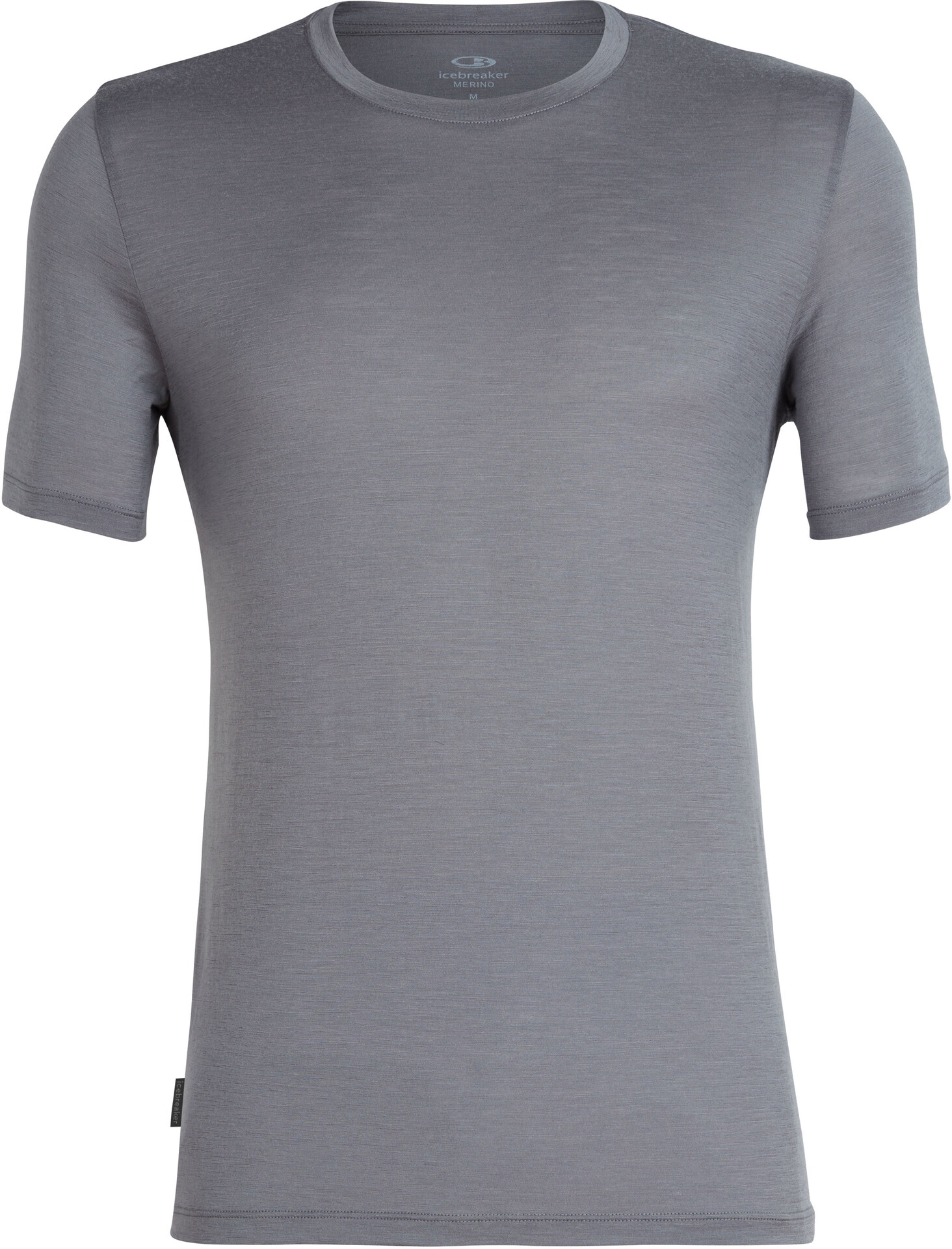 Black 2019 T-Shirt Manches Courtes Icebreaker Tech Lite Everest Crest SS Crewe Top Men