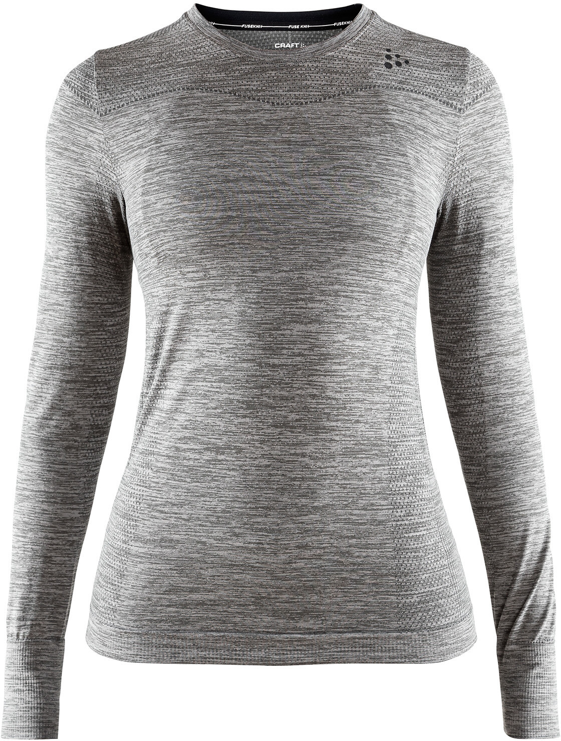 Craft Fuseknit Comfort Langærmet undertrøje Damer, dark grey melange (2019) | Base layers